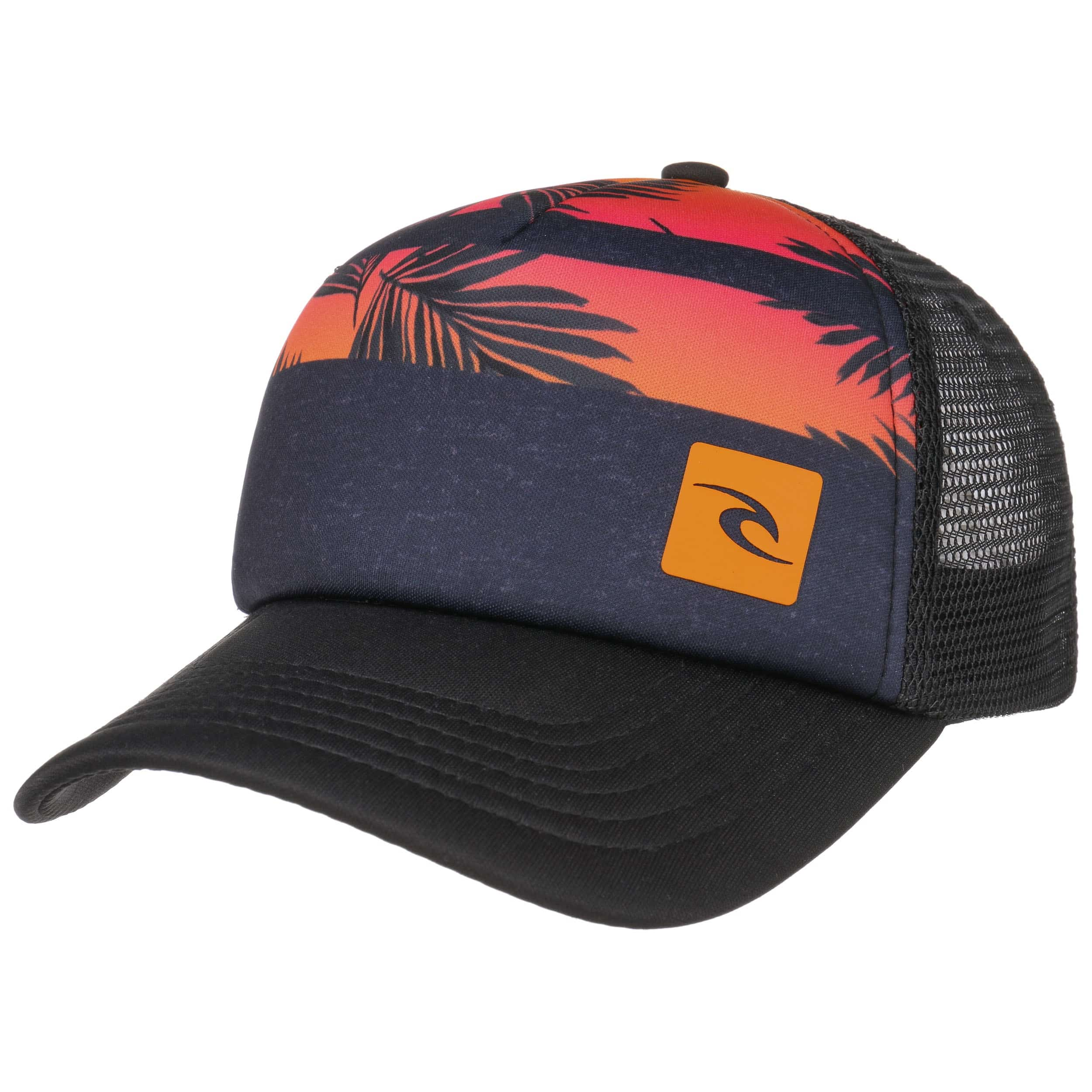 ... Kids Trucker Cap by Rip Curl - black-red 6 ... 21d5ad4f0777
