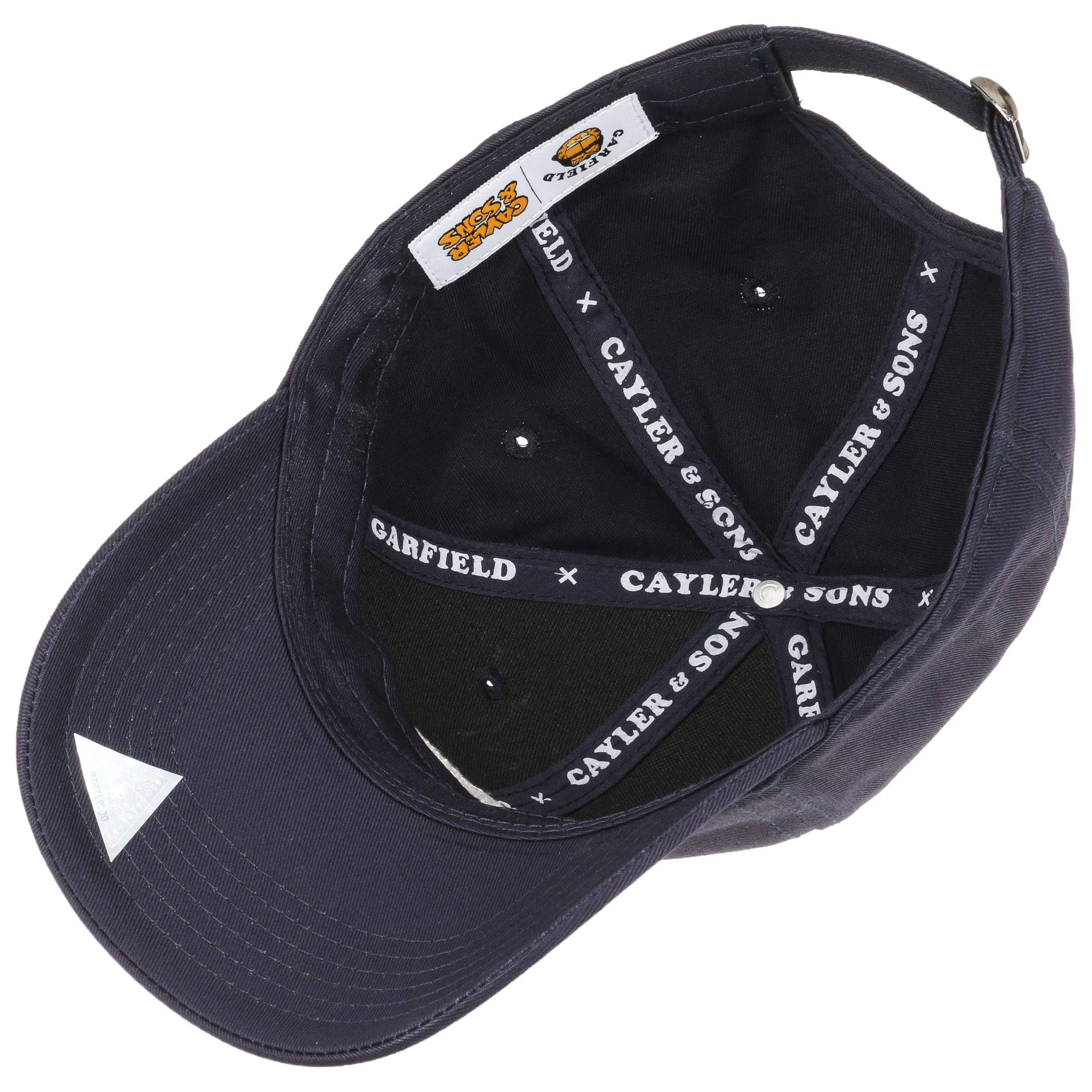 ... King Garfield Curved Cap by Cayler   Sons - navy 2 ... e43b69f3091