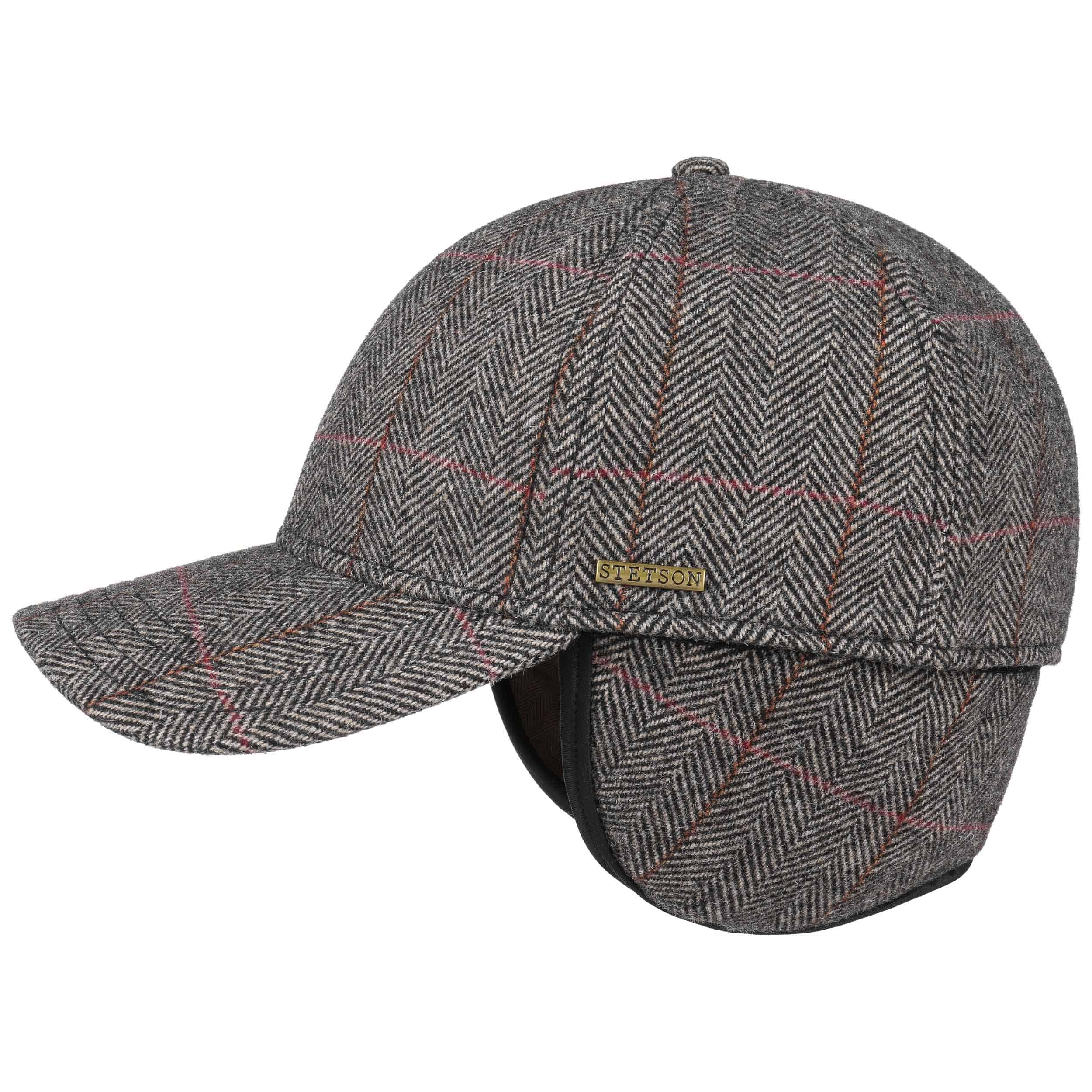 eaf676b4 Kinty Wool Cap with Ear Flaps by Stetson, EUR 59,00 --> Hats, caps ...