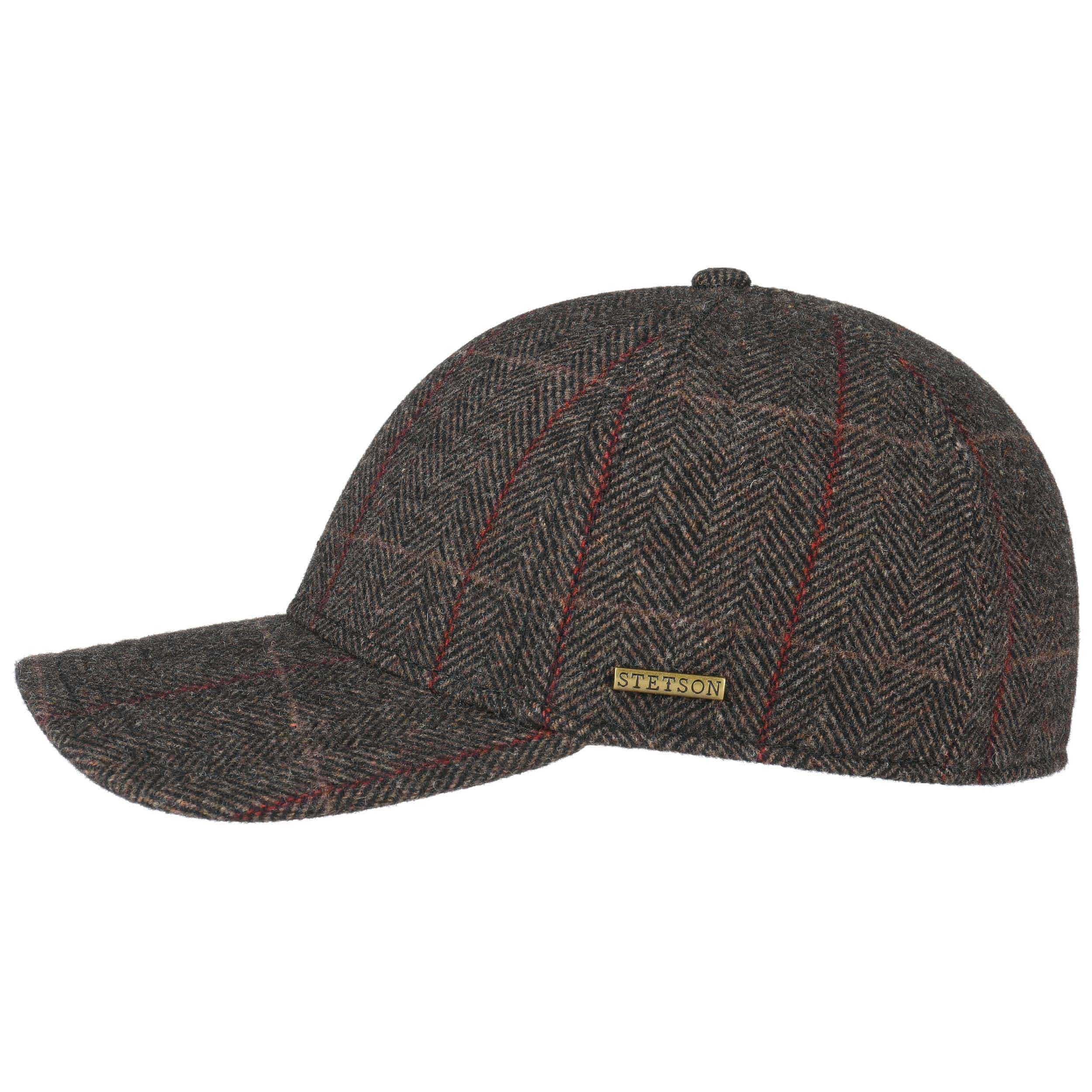 cf254722fa3ab ... Kinty Wool Cap with Ear Flaps by Stetson - grey 5 ...