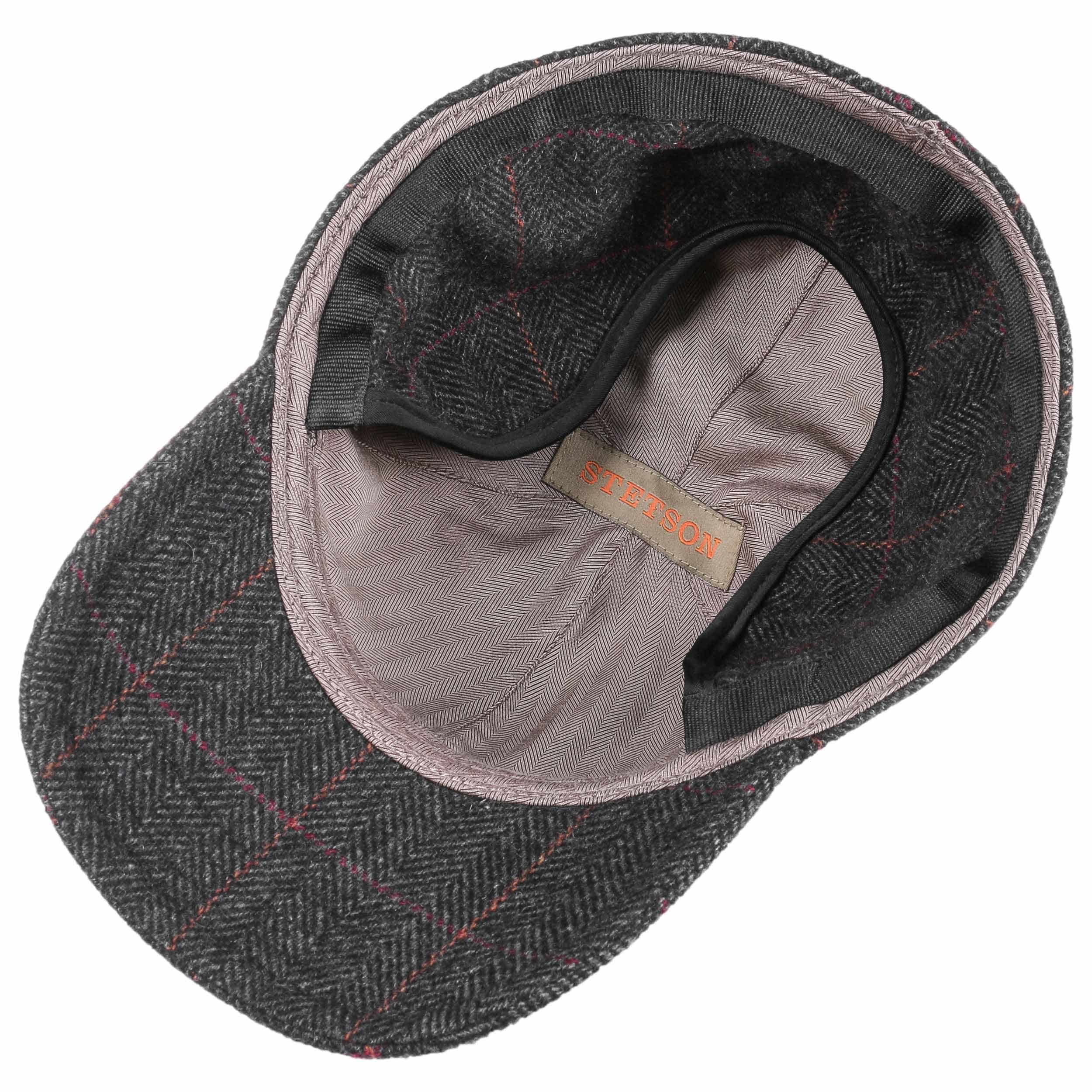 bf90787c409b1 ... Kinty Wool Cap with Ear Flaps by Stetson - grey 2 ...