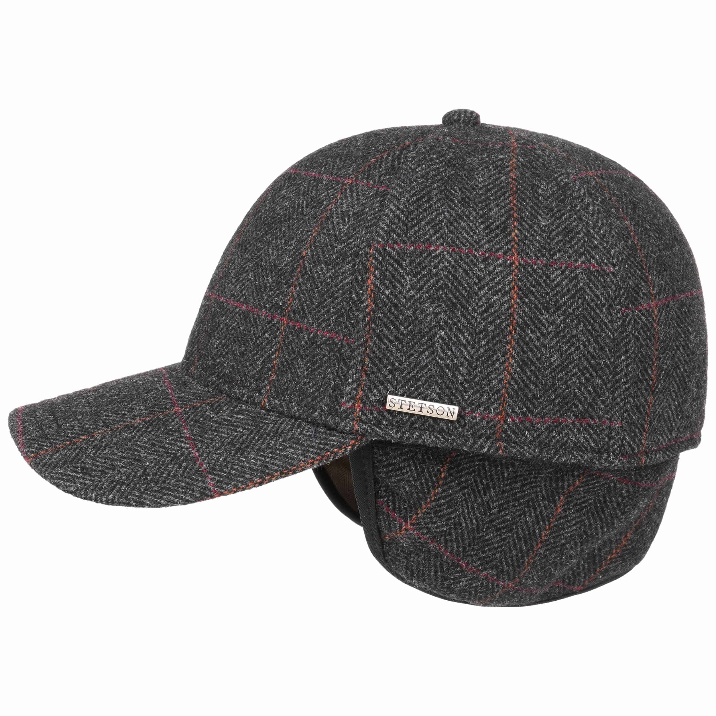 395cf1b49f2e3 Kinty Wool Cap with Ear Flaps. by Stetson