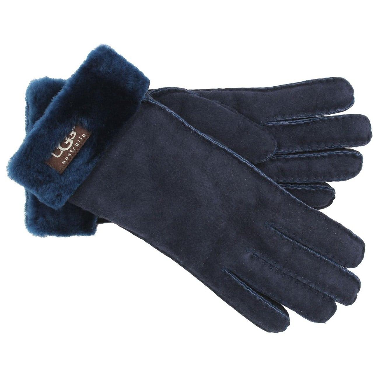 b8abb618fdad7f ... Klassik Damenhandschuh by UGG - blau 1 ...