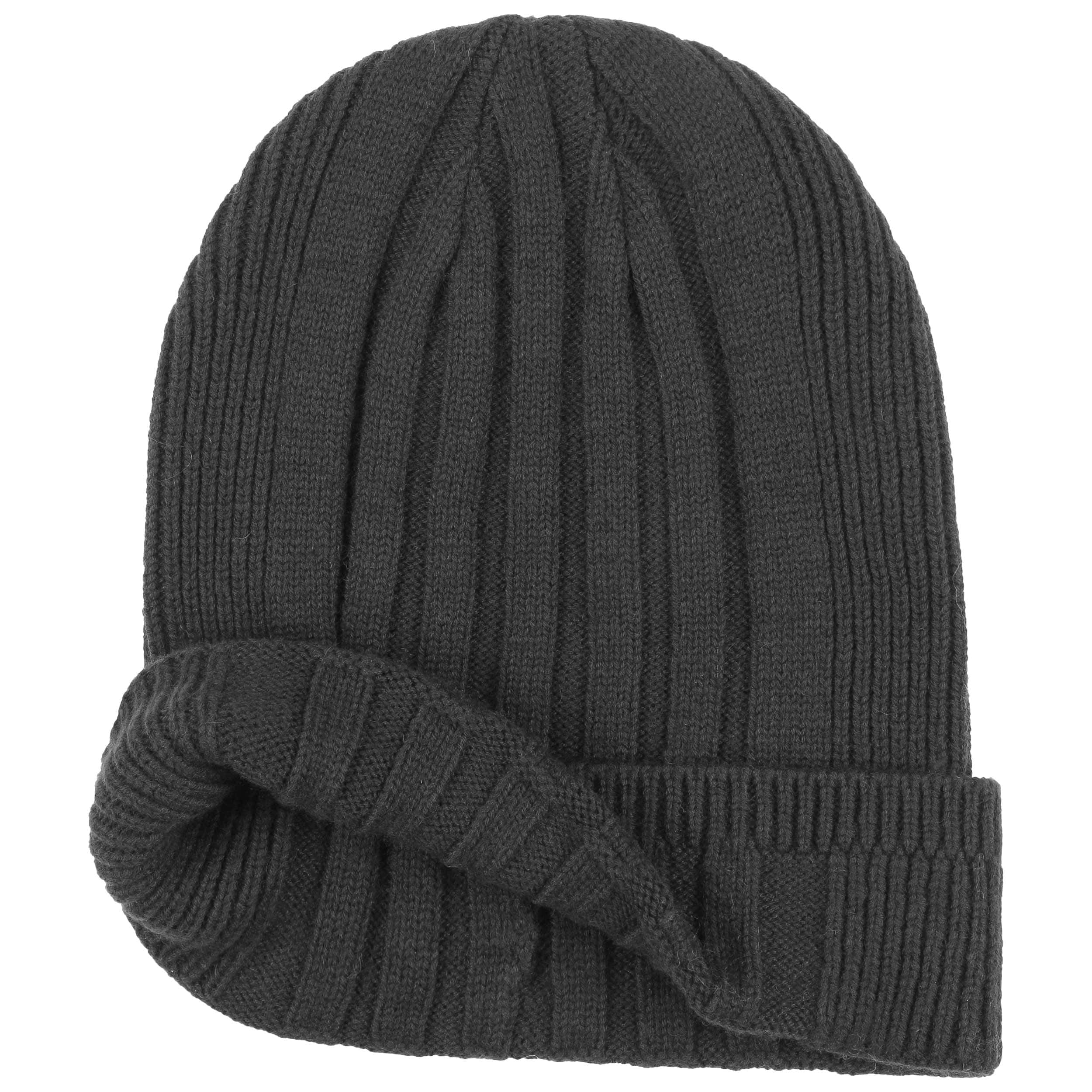 a20d5068a30 ... Knit Mix Beanie with Cuff by UGG - black 1 ...