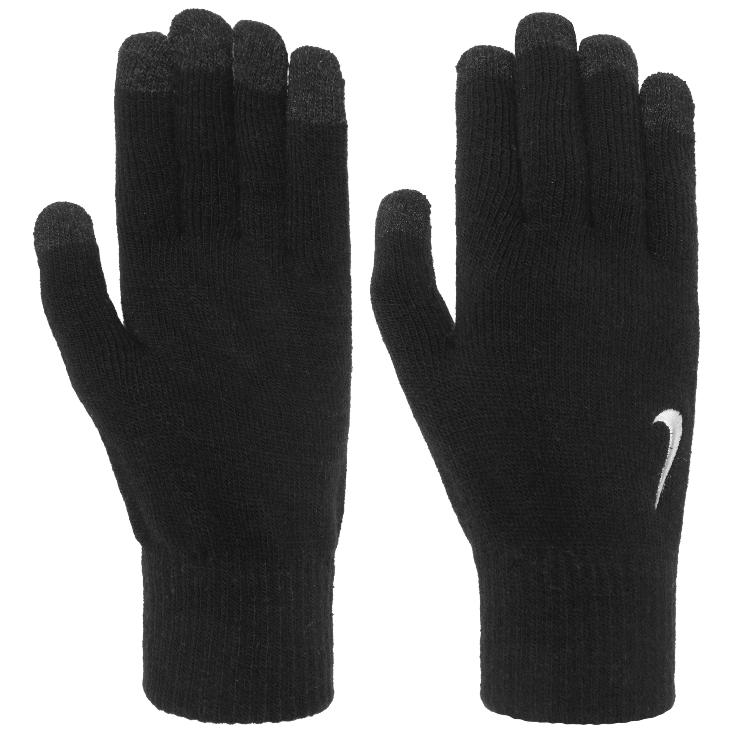 huge selection of 02f11 ccc86 ... Knitted Tech Gloves Handschuhe by Nike - schwarz 2