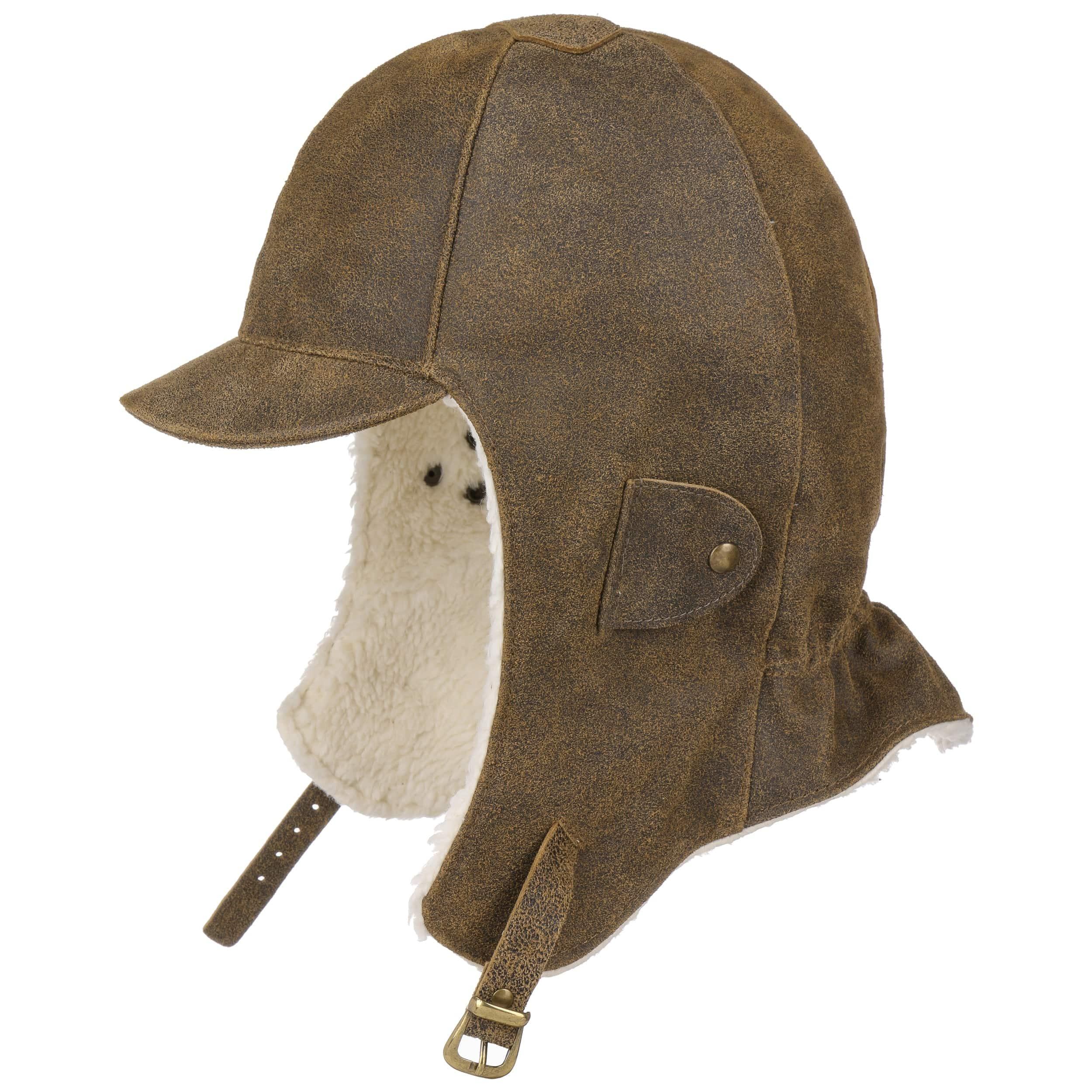 f4af3f98113 Leather Aviator Hat by Lierys