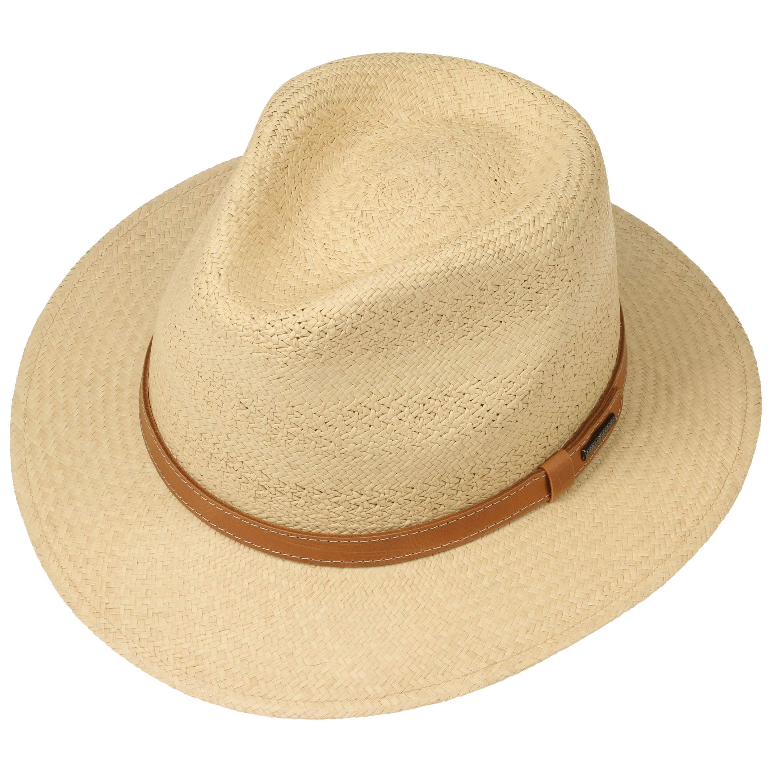 a903a2612c8 Lexerell Traveller Panama Hat by Stetson - nature 1 ...