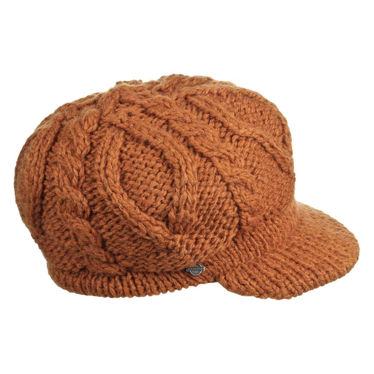 bf8fe0768a5 ... usa liberica knit baker boy hat by seeberger 1 390c9 e764c ...