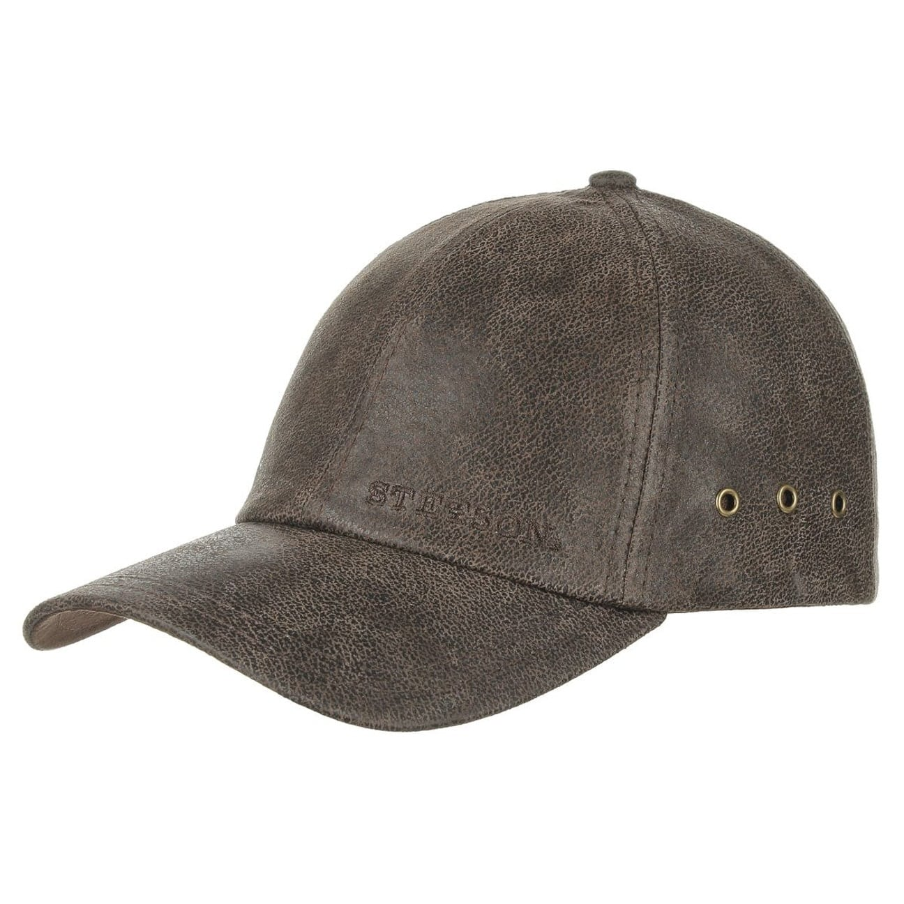 Liberty Leather Cap. by Stetson add2ff26f63