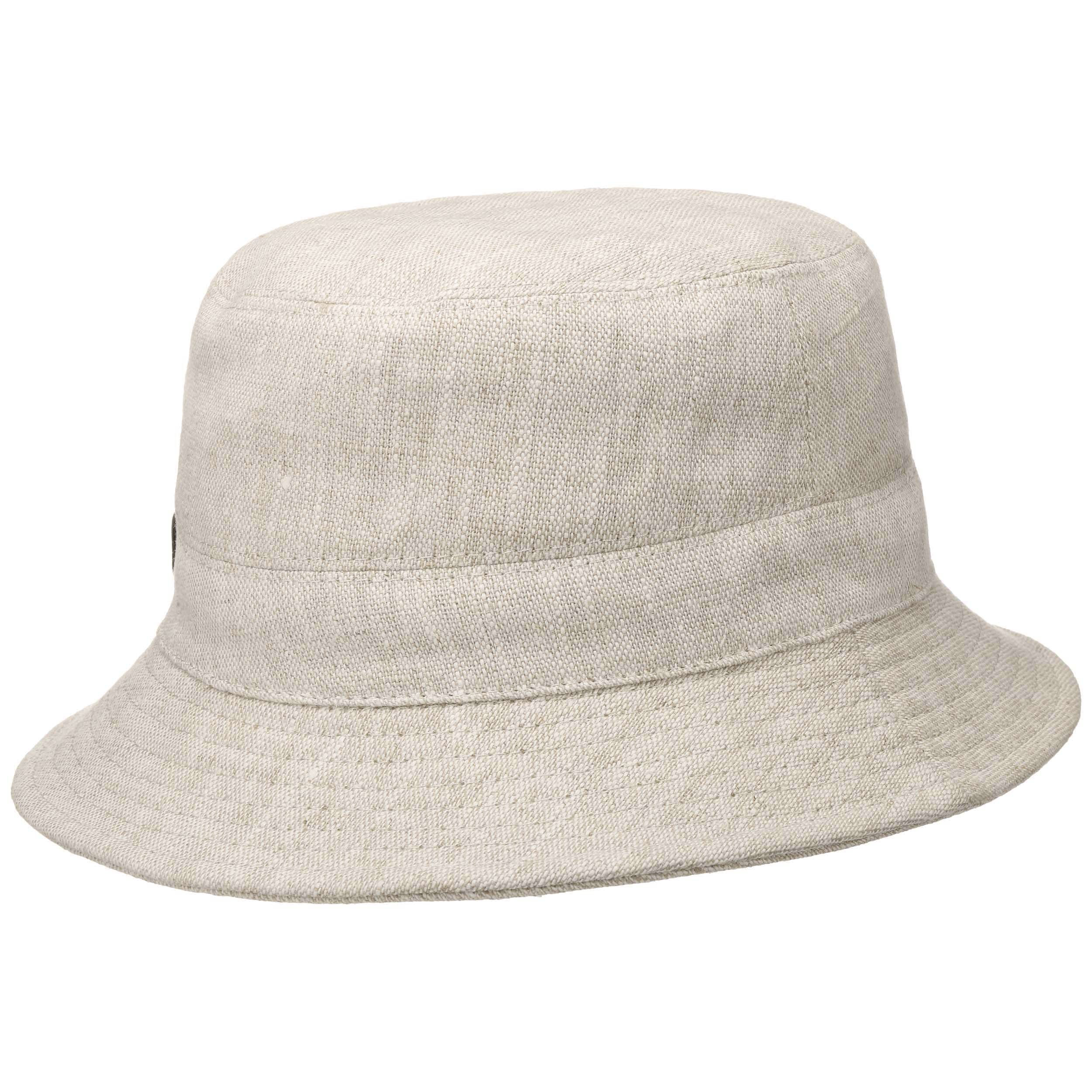 84bffe7e ... Linen Fishing Hat by Lierys - beige 3 ...