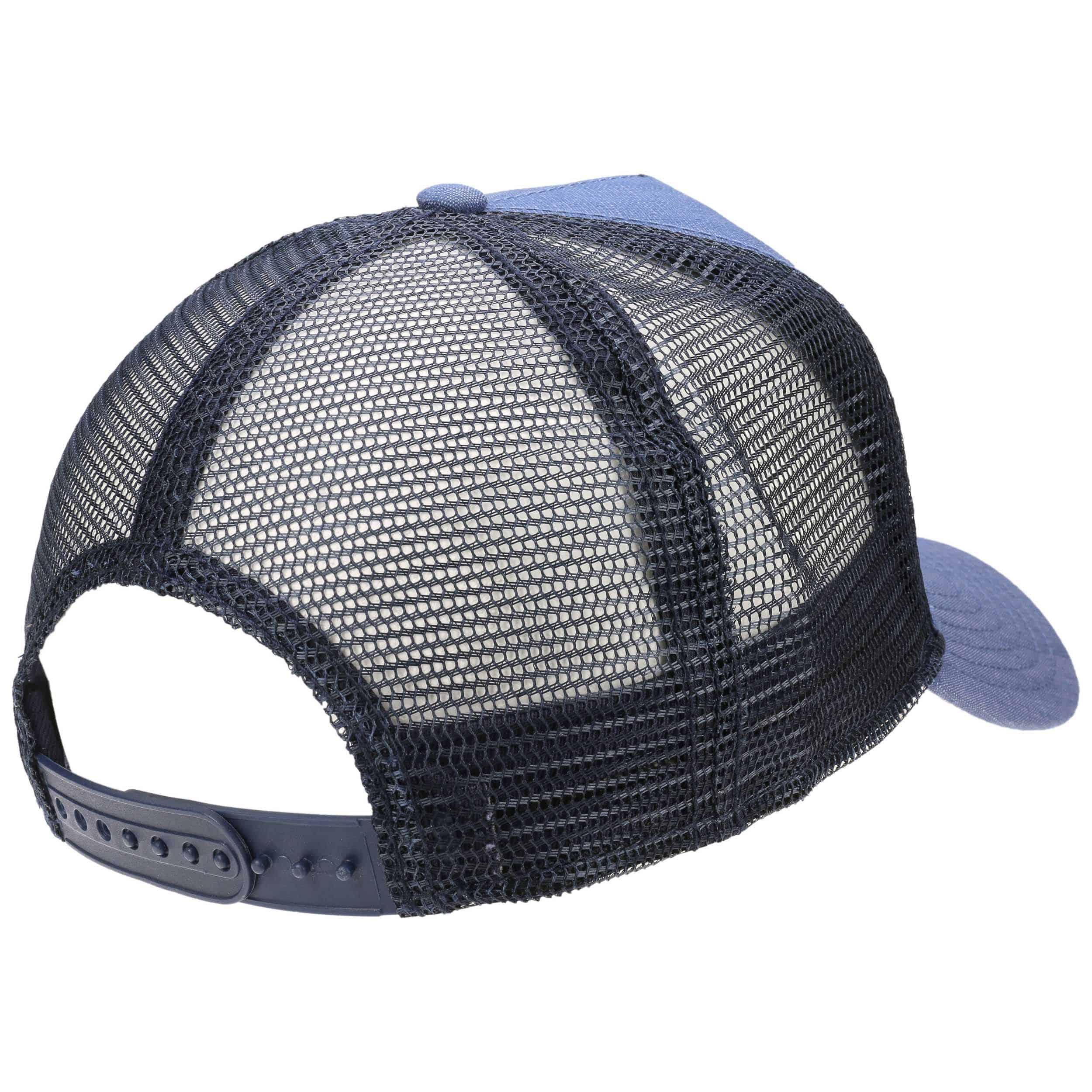 DJINNS Coloured Linen Trucker Cap Basecap Baseballcap Meshcap Snapback