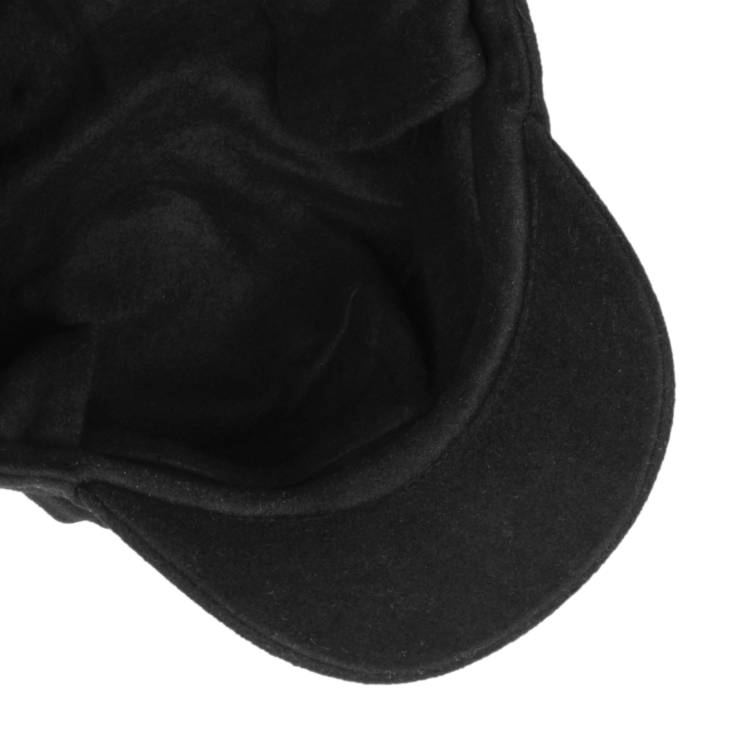... Liseta Newsboy Cap with Ear Flaps by Lipodo - black 2 ... db883515a09