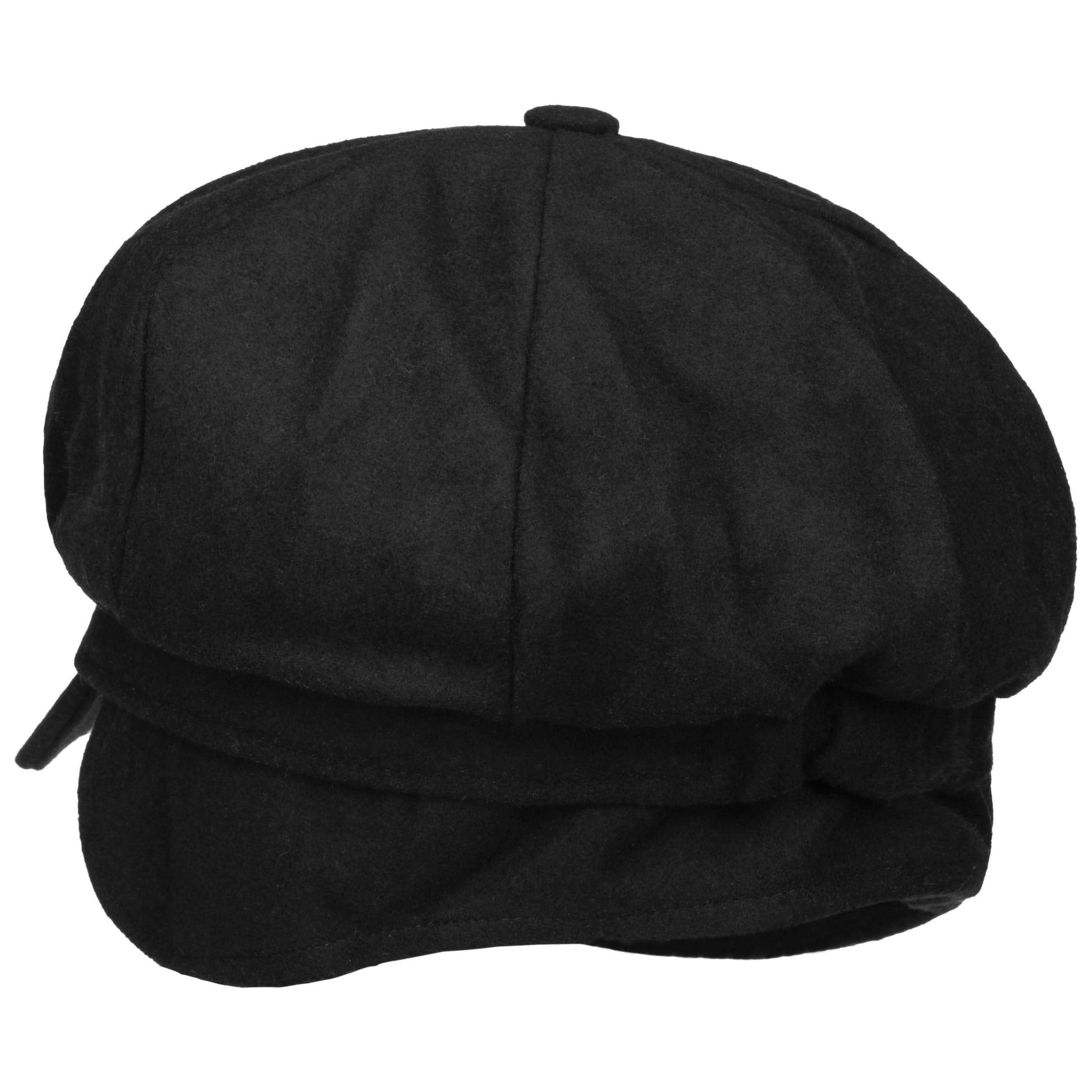 ... Liseta Newsboy Cap with Ear Flaps by Lipodo - black 3 ... a9a7f6d906f