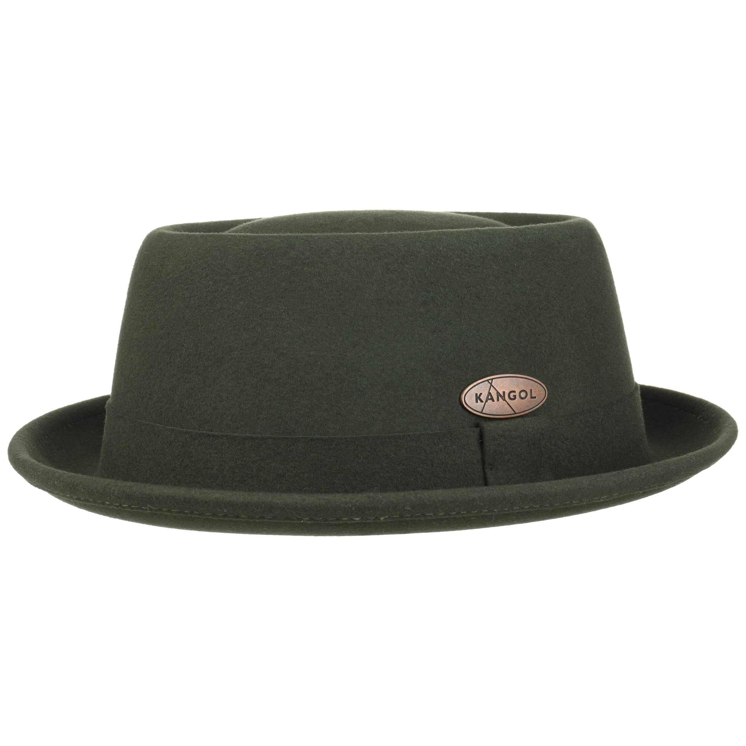 ... Lite Felt Pork Pie Hat by Kangol - dark green 4 ... c93d416505e