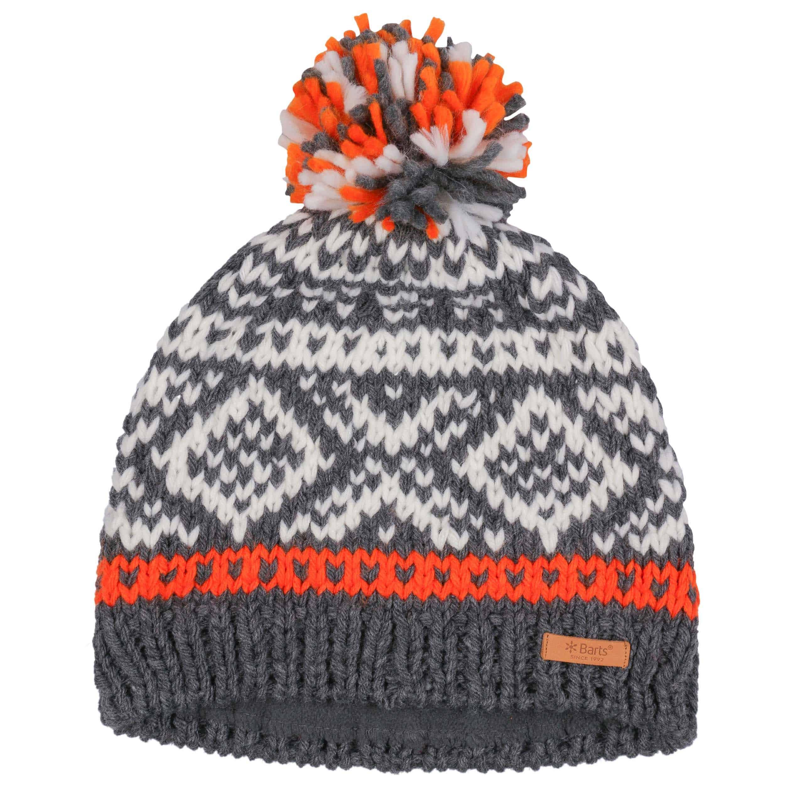 84ad83c772d Log Cabin Pompom Hat by Barts - anthracite 1 ...