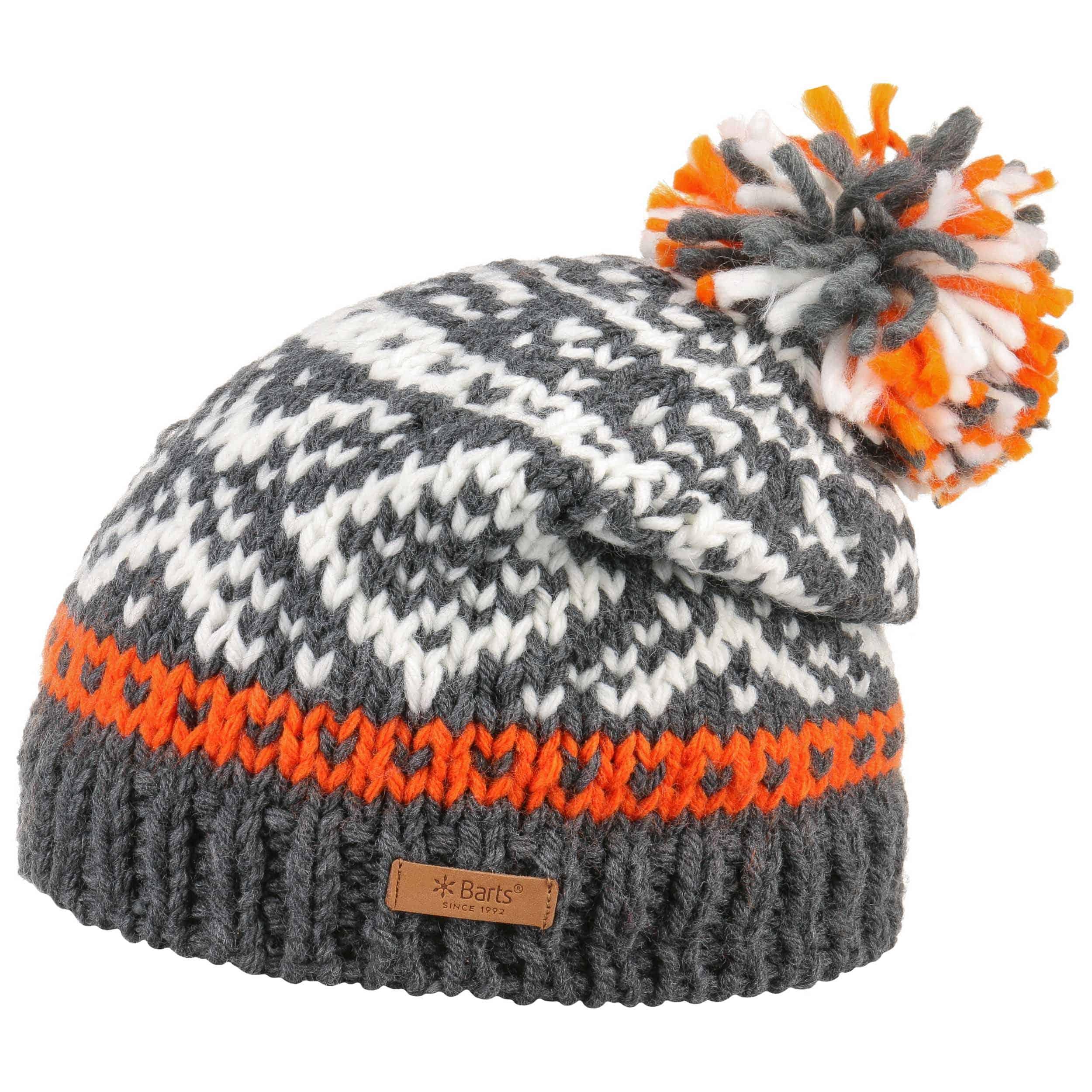 3fb99c235e9 ... Log Cabin Pompom Hat by Barts - blue 1 ...