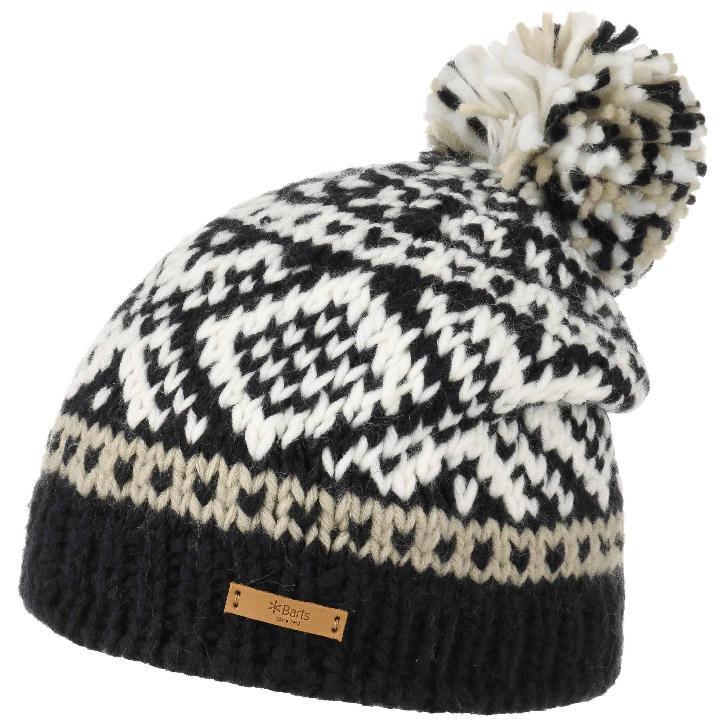 979a424f7c0 Log Cabin Pompom Hat. by Barts