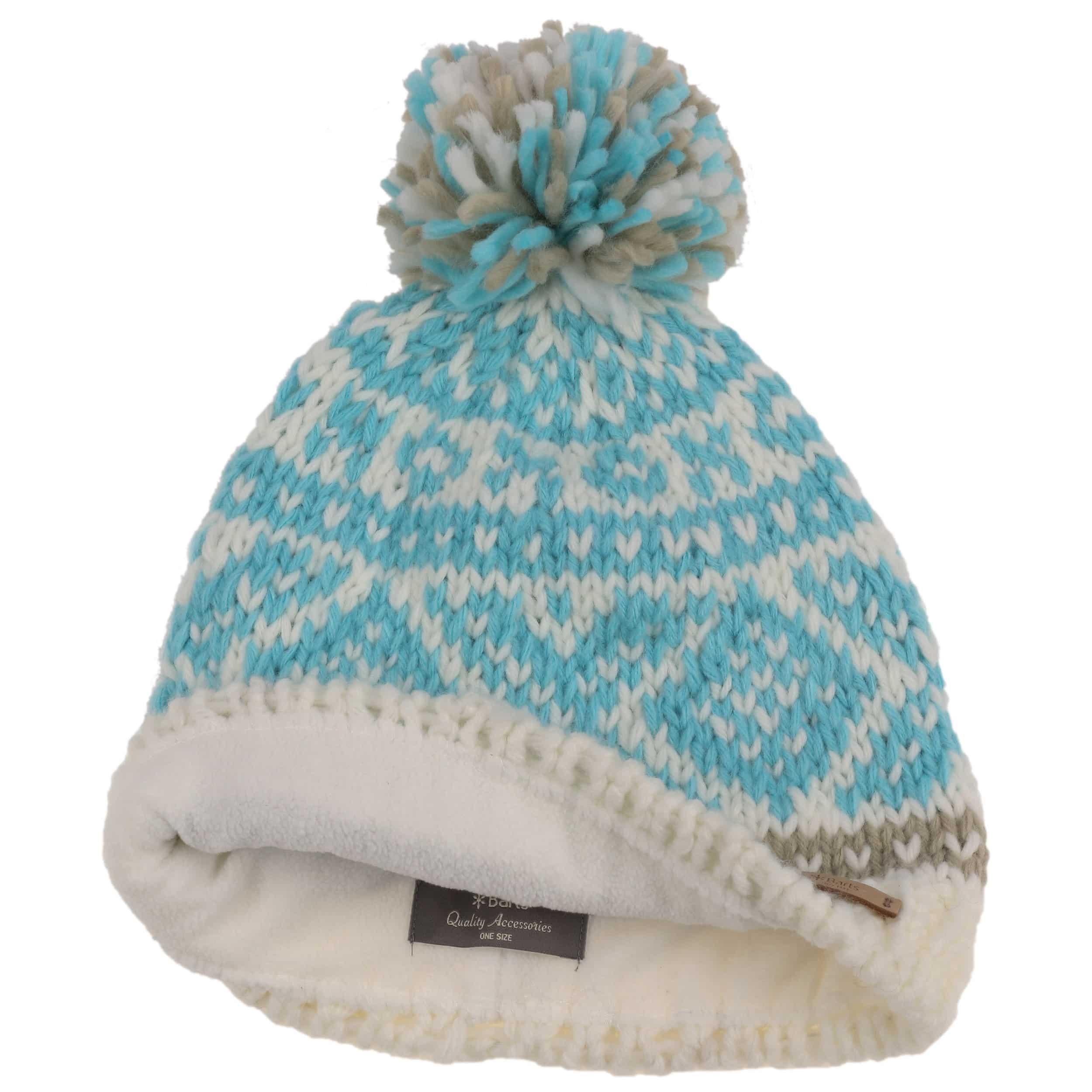 38ed5a5d9e8 ... Log Cabin Pompom Hat by Barts - cream white 1 ...