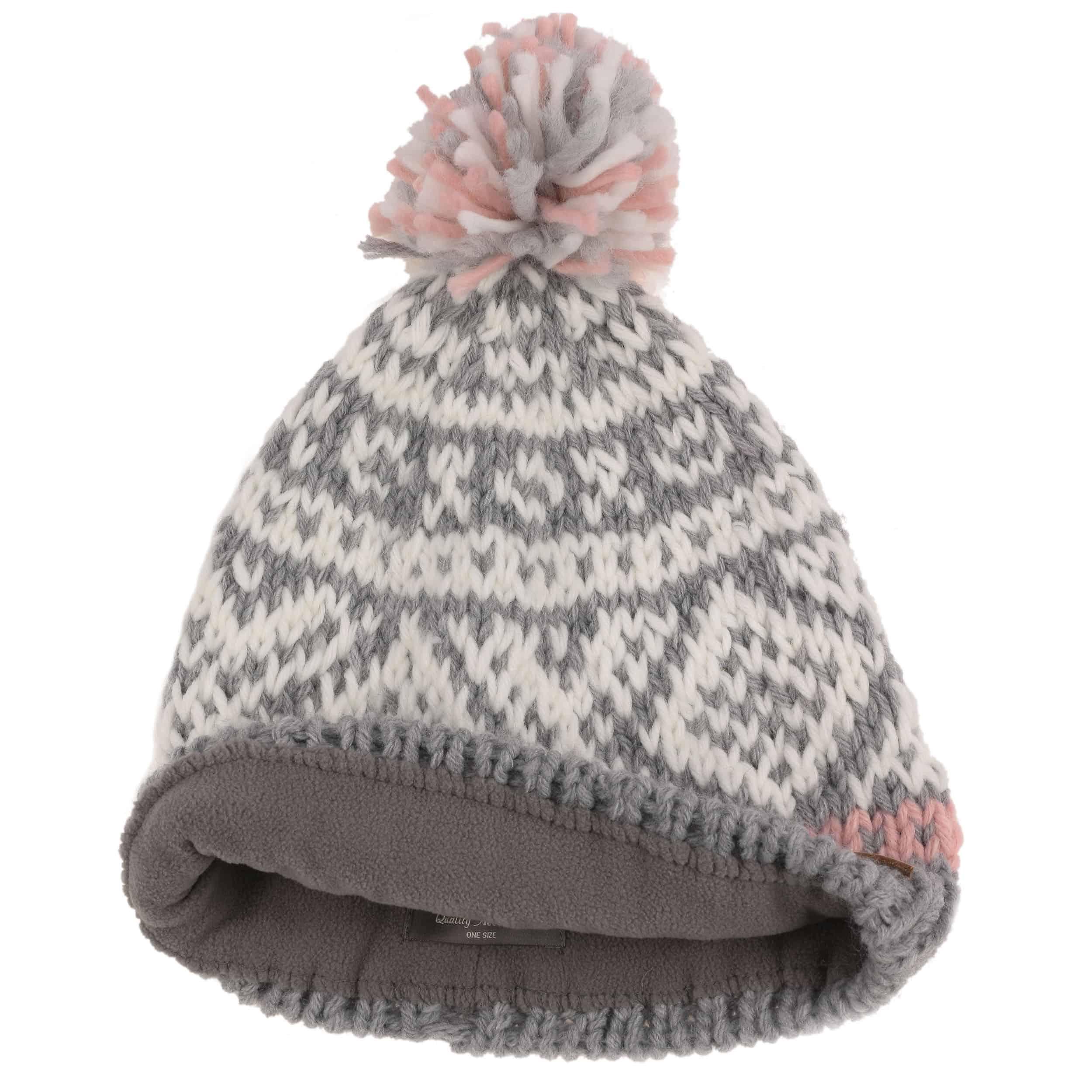e0142ba4196 ... Log Cabin Pompom Hat by Barts - red 1 ...