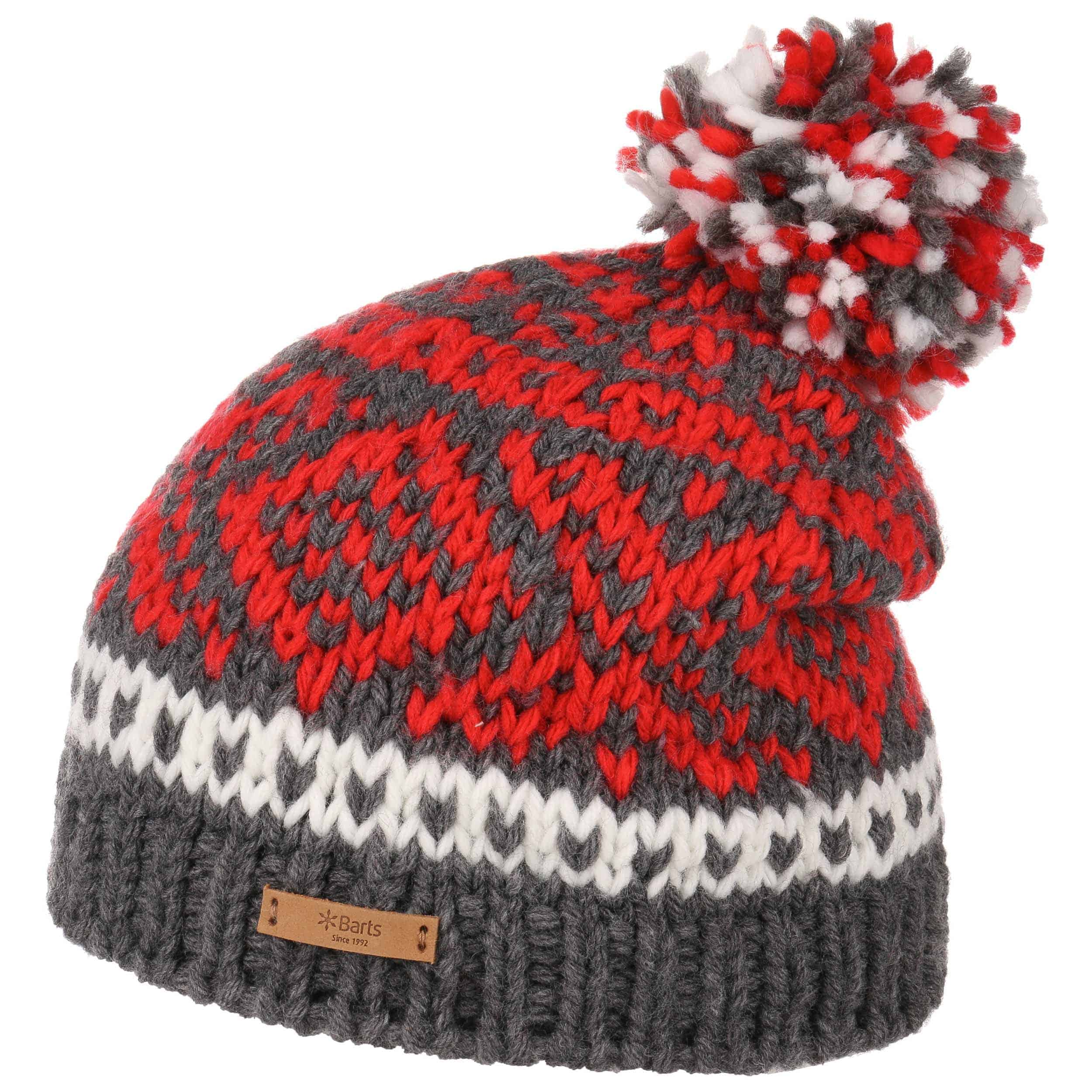 c36ab3a4bc1079 ... light grey 3 · Log Cabin Pompom Hat by Barts - red 3 ...