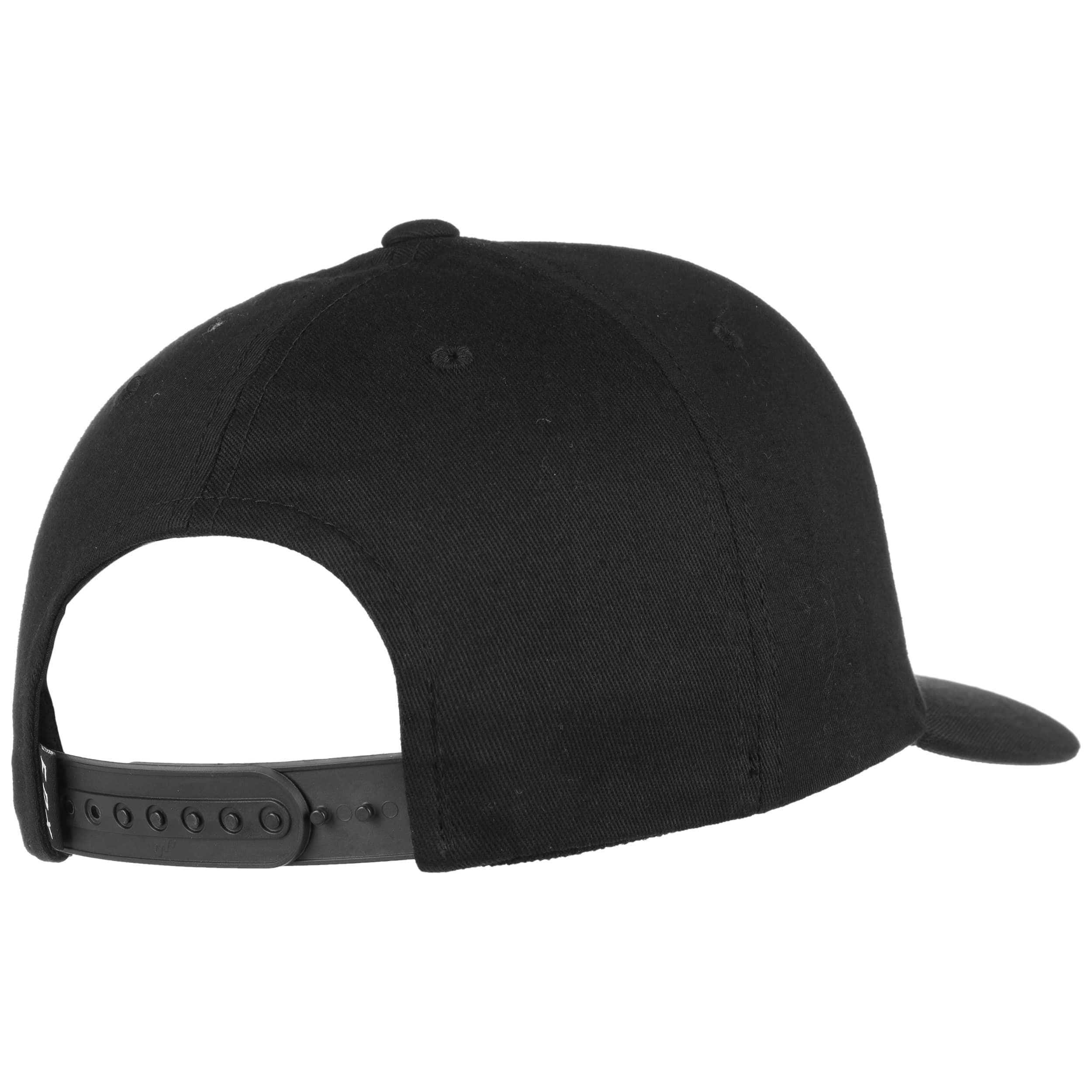 ... Logo 110 Snapback Cap by FOX - black 3 ... cd6ea686ec9