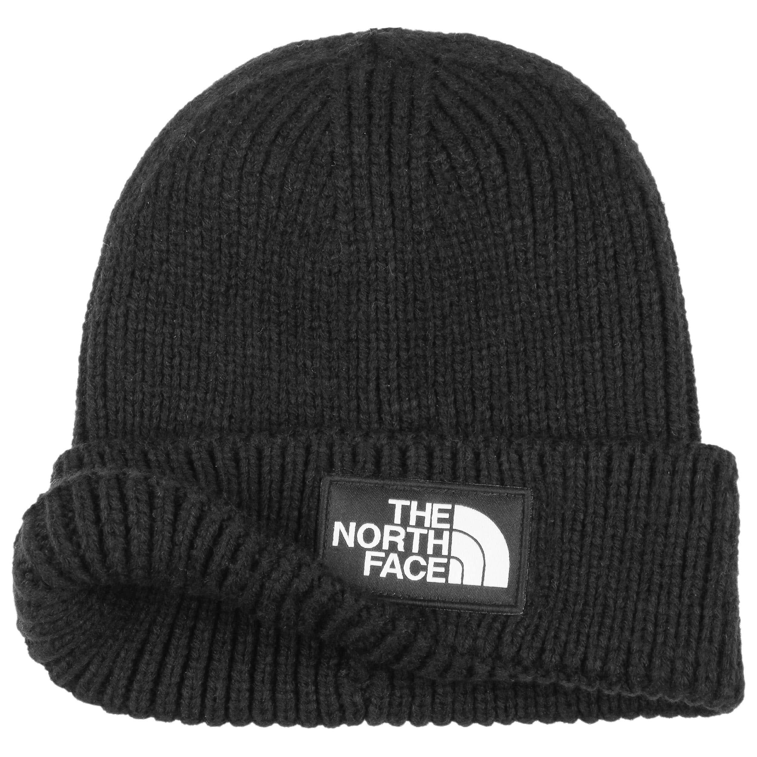 2bbc50808e537 ... Logo Box Beanie Hat by The North Face - black 1 ...