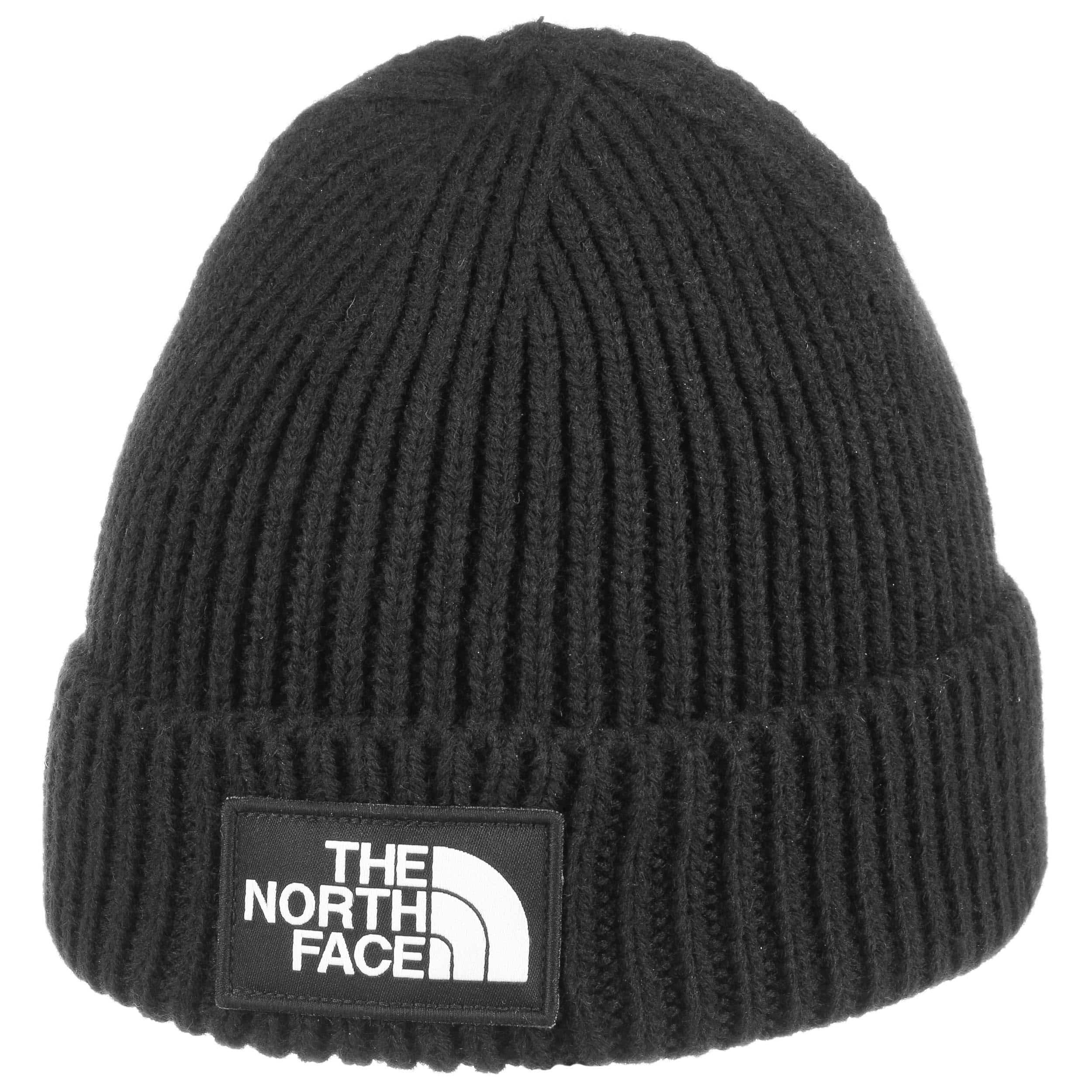 af5bf7e22ee Logo box beanie hat the north face hats caps jpg 2500x2500 North face black beanie  cap