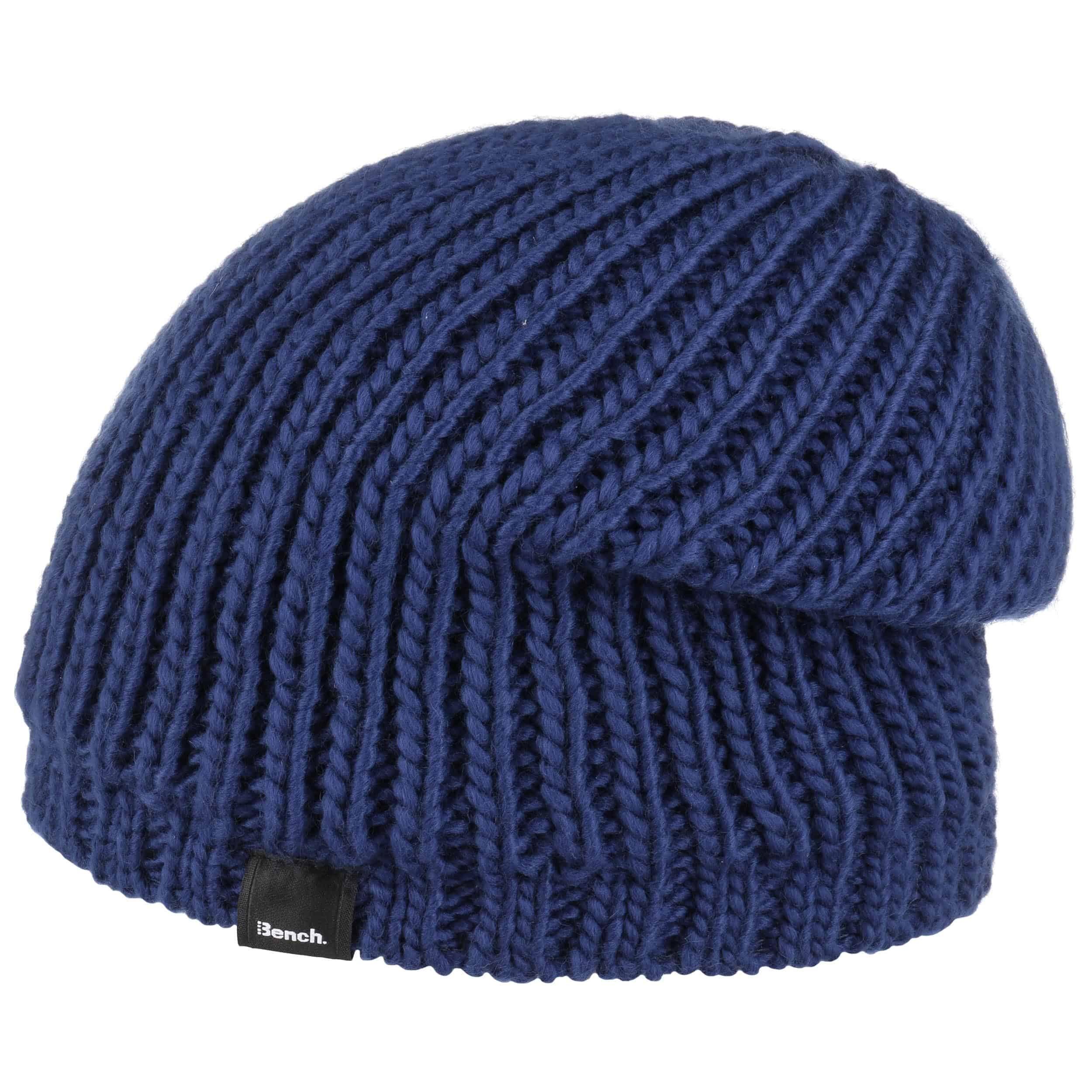 0600b2a60ac ... Long Beanie Knit Hat by Bench - orange 3