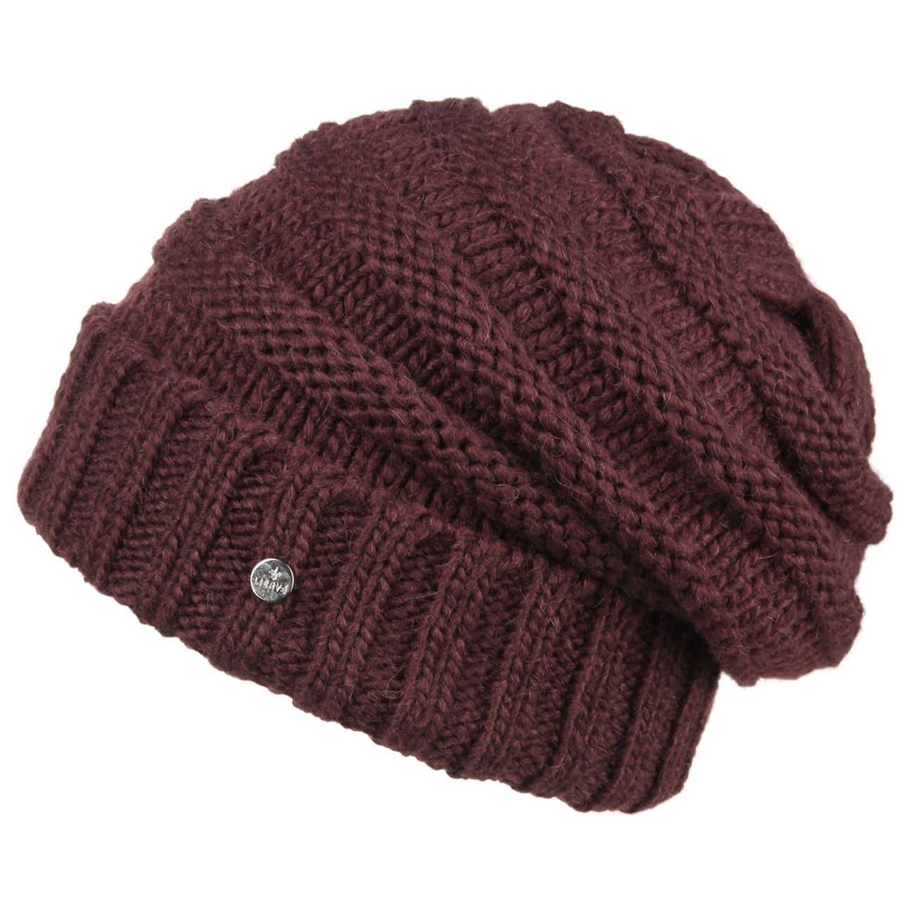 3b9cd509e6b6cc ... Long Beanie Knit Hat by Lierys - black 1 ...