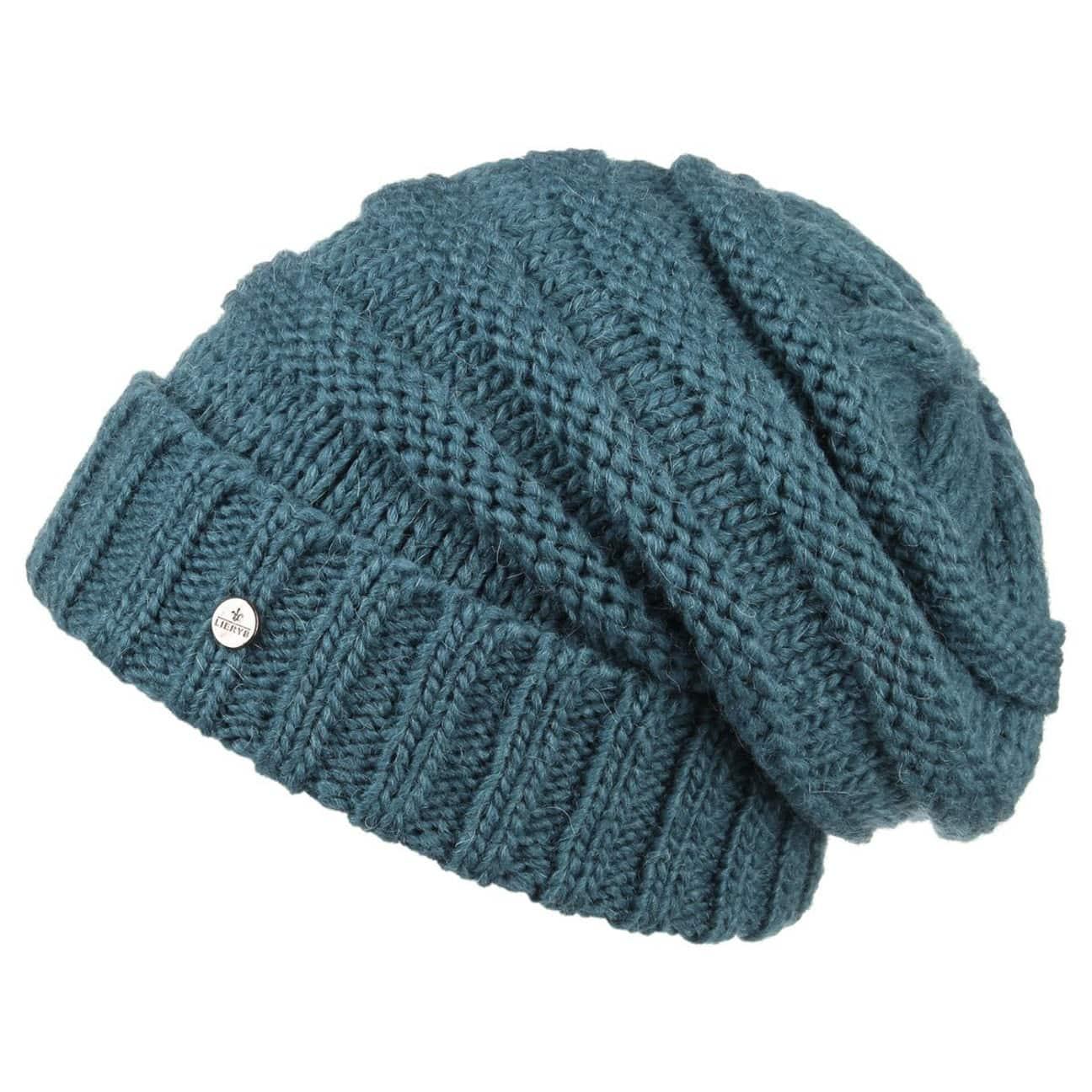 1813bcc647019b ... Long Beanie Knit Hat by Lierys - oatmeal 1 ...