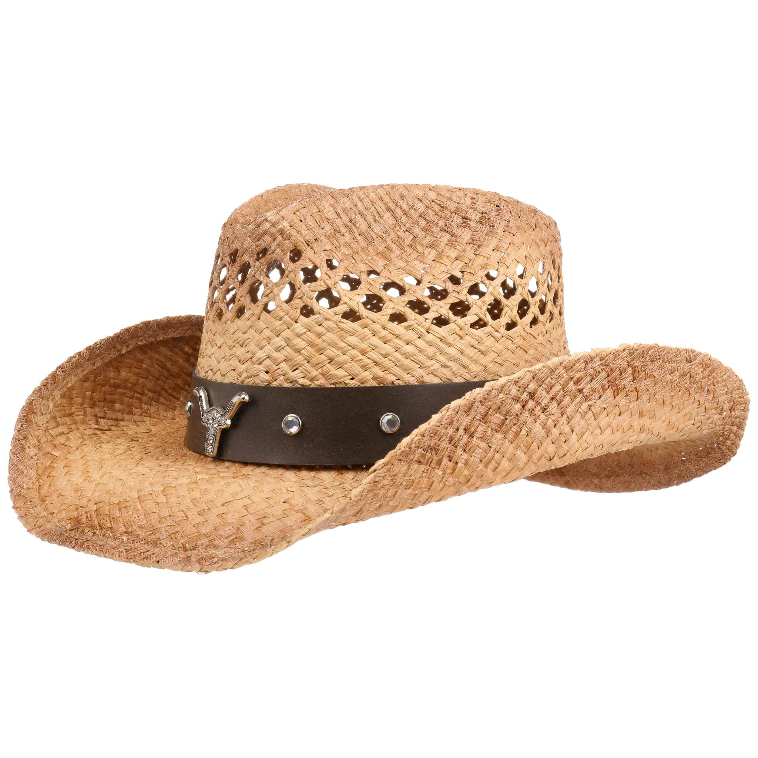 ... Longhorn Western Straw Hat by Conner - nature 7 dd70b305894f