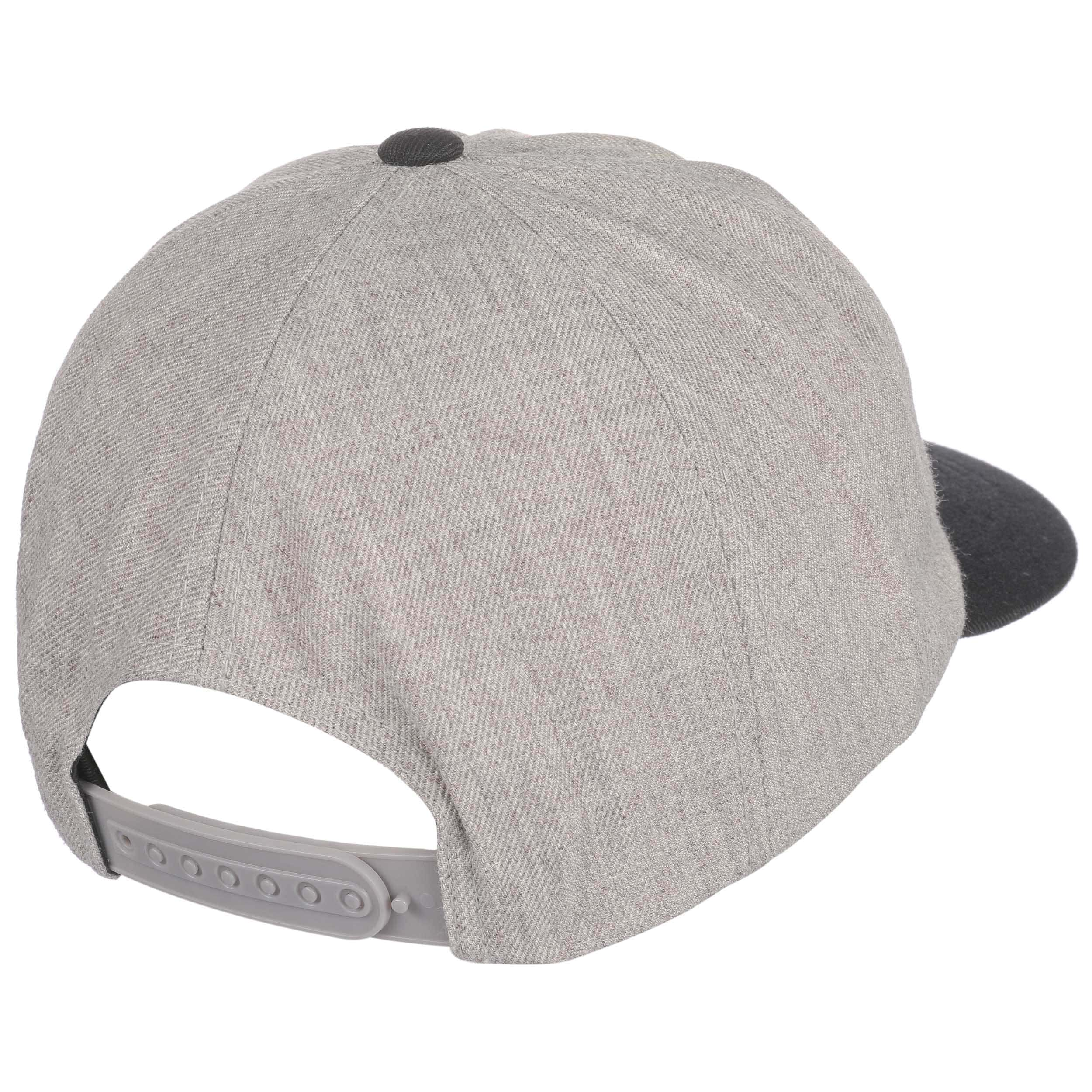 buy popular aa965 d9cb6 ... free shipping louisville snapback cap by brixton light grey 3 42d95  d7fab