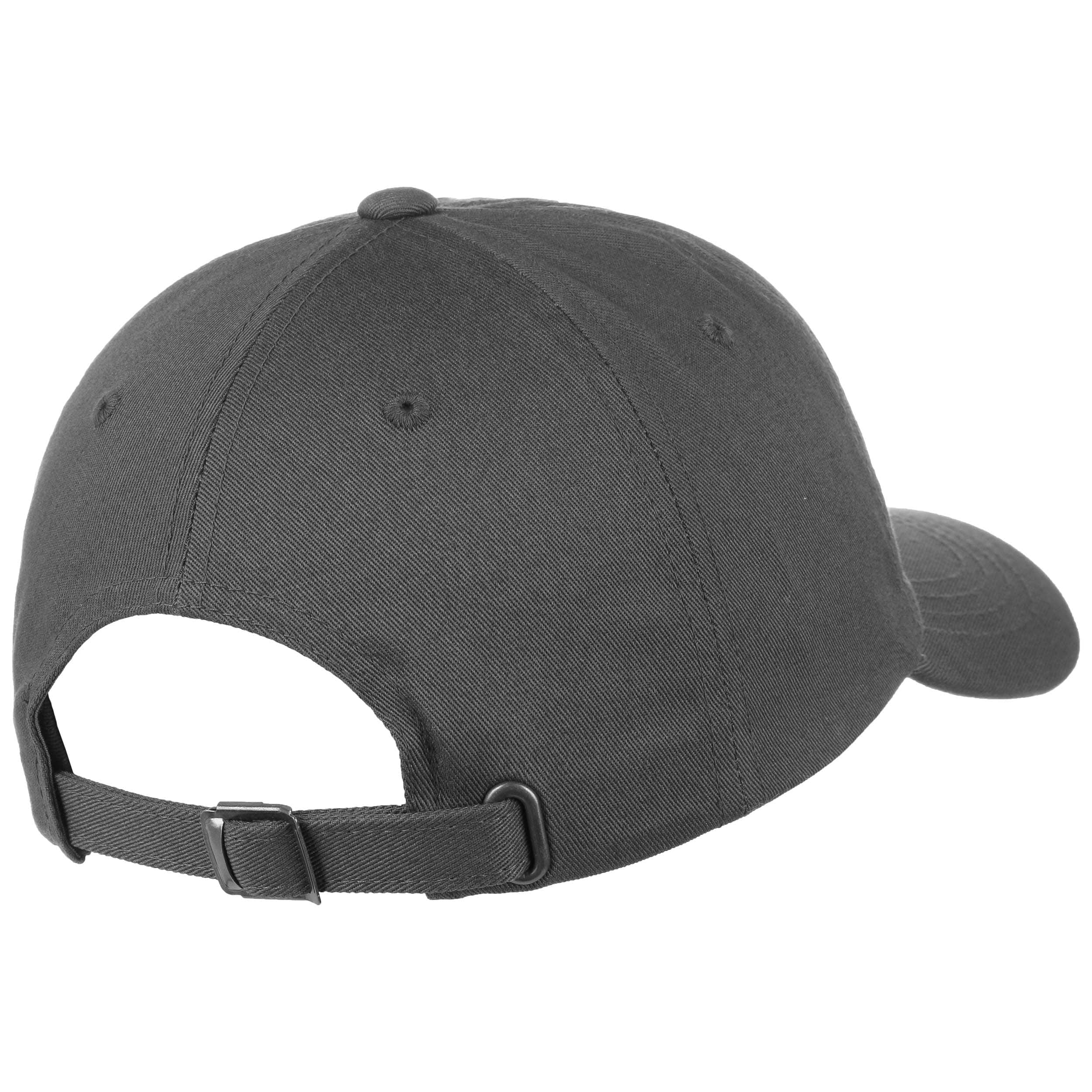 ... Low Profile Cotton Strapback Cap - dark grey 3 ... 44a22fab402