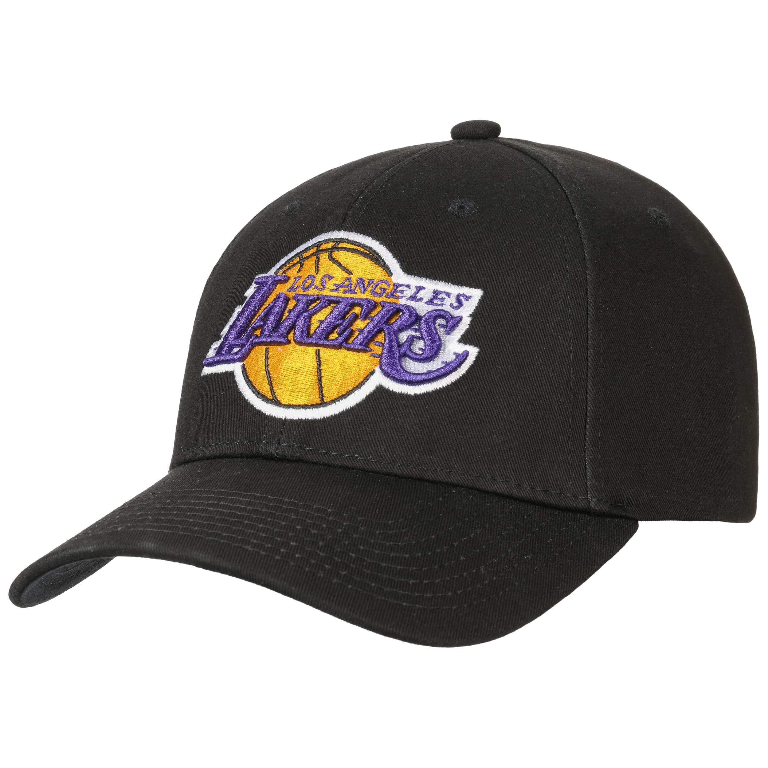 ... Low Profile Lakers Cap by Mitchell   Ness - black 6 2b5d9fbe019