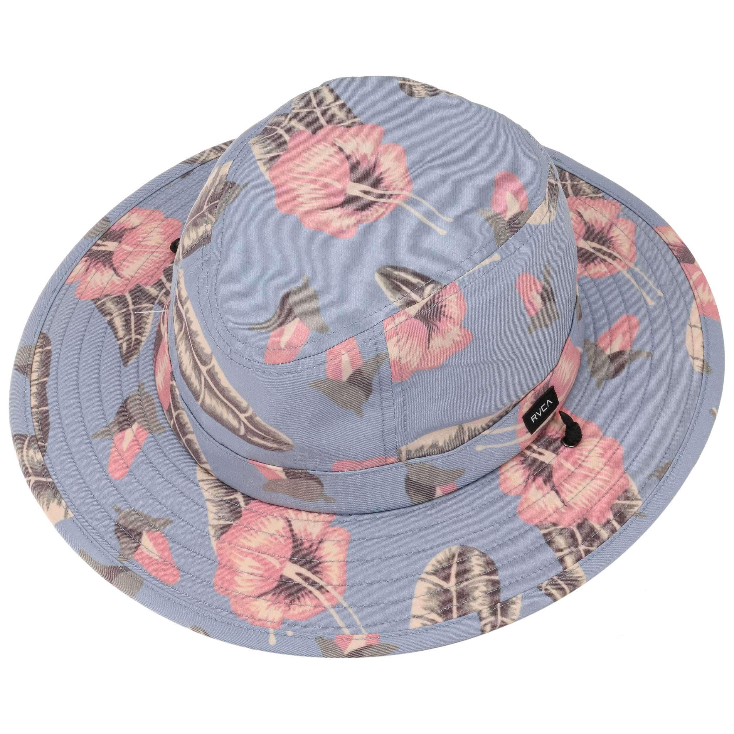 1a78e904 ... good luke boon sun hat by rvca light blue 1 c3ec6 55363