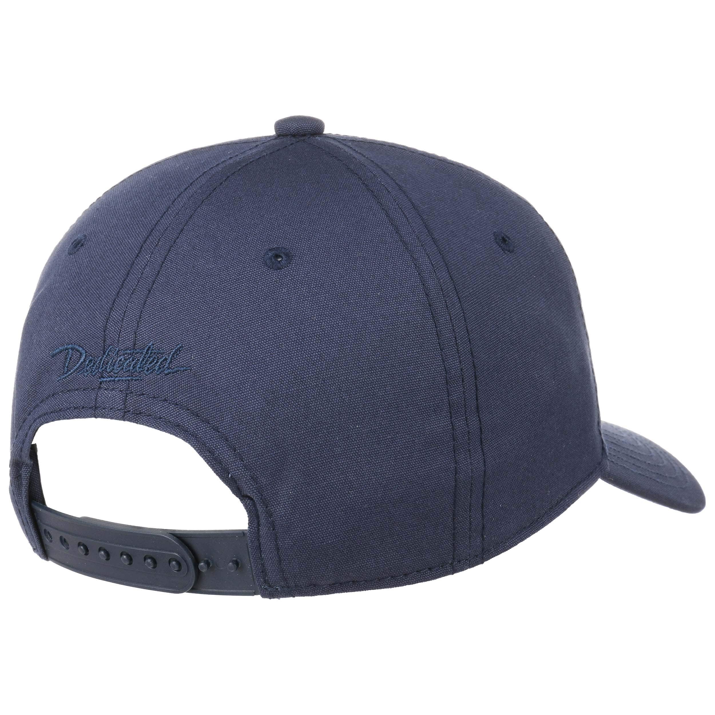 ... Luke Curved Brim Snapback Cap by dedicated - navy 3 ... 60c07f16948