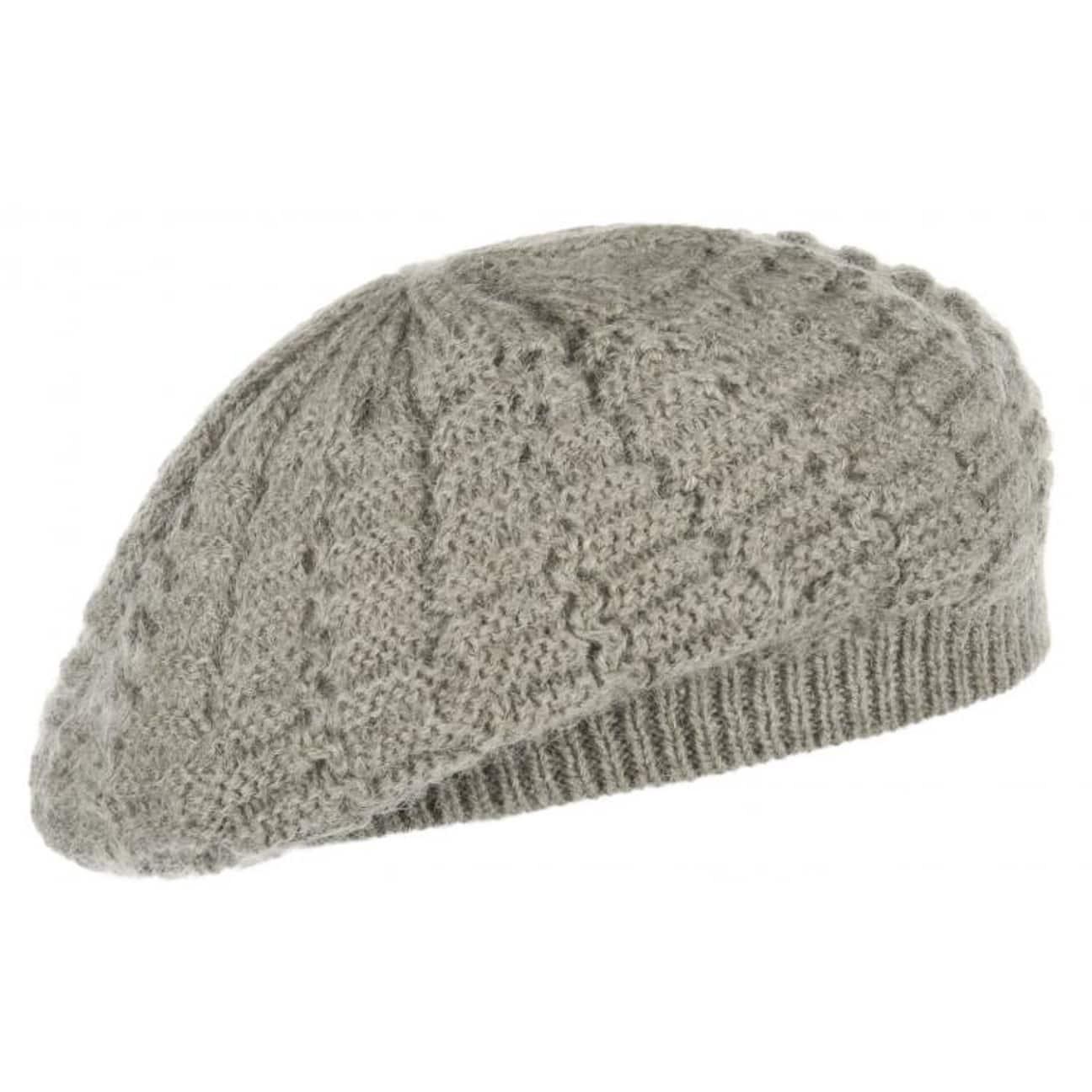 Mohair Beret Knitting Pattern : Lulea Mohair Knit Beret, EUR 14,95 --> Hats, caps & beanies shop onlin...