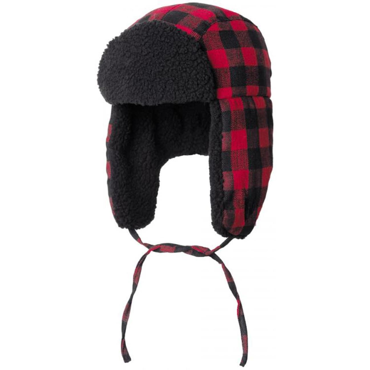 2da43fbb95d Lumberjack Aviator Hat by bruno banani - red 1 ...