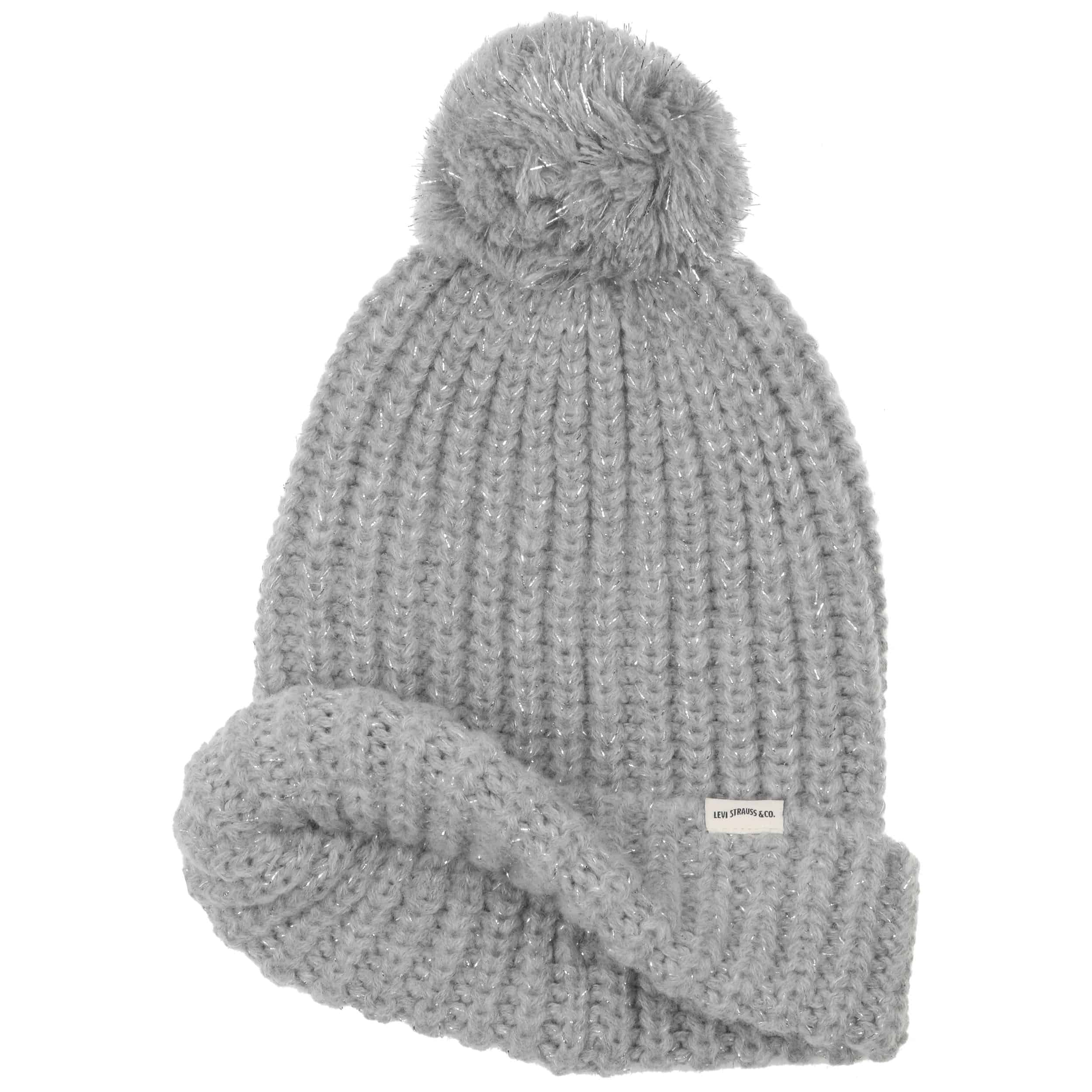 Lurex Beanie by Levi´s - light grey 1 ... bfc5e9b6c8b9