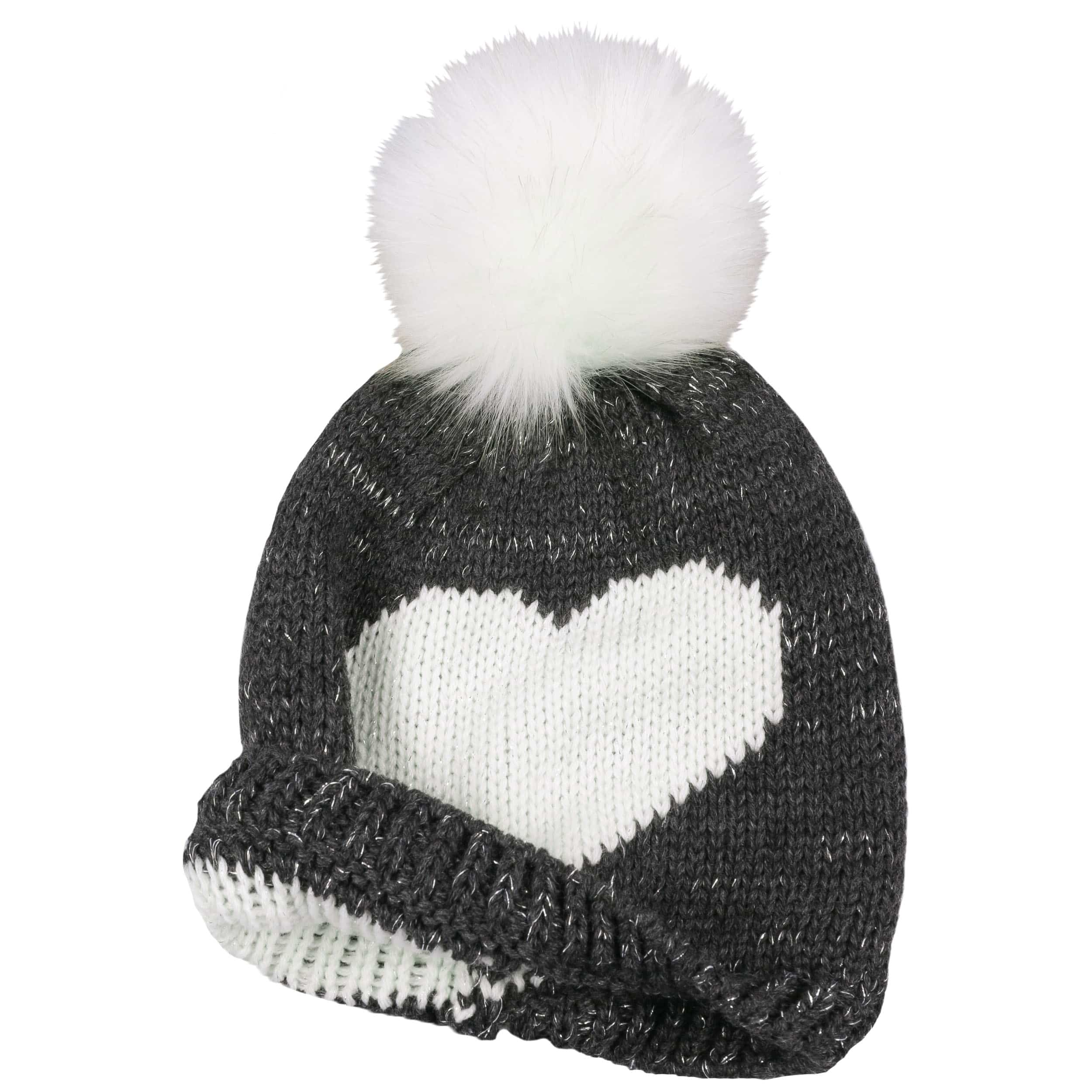 f1a6e3b8589 Lurex Girls Pompom Hat by maximo