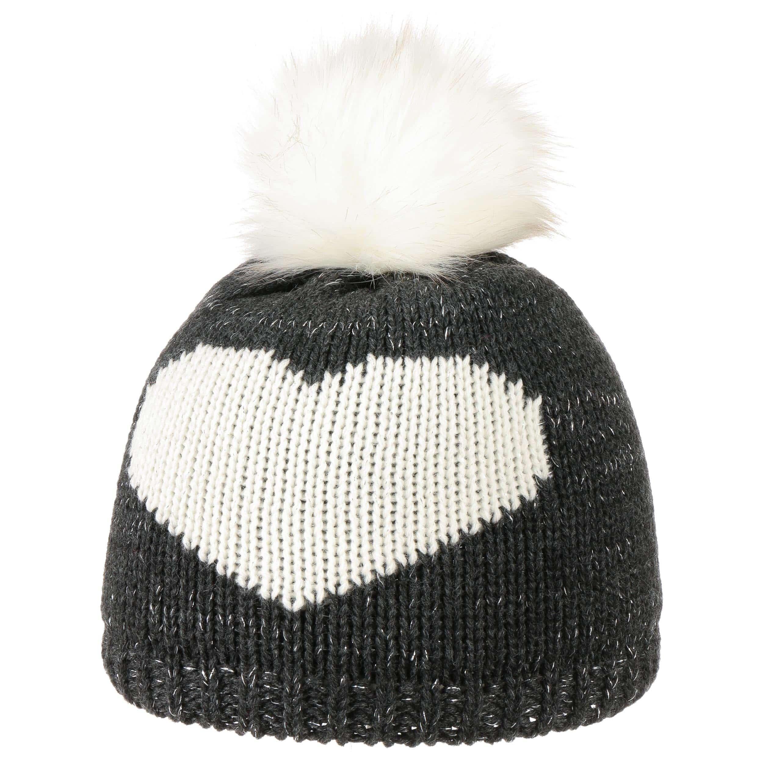 Lurex Girls Pompom Hat by maximo a08c5f40a1c6