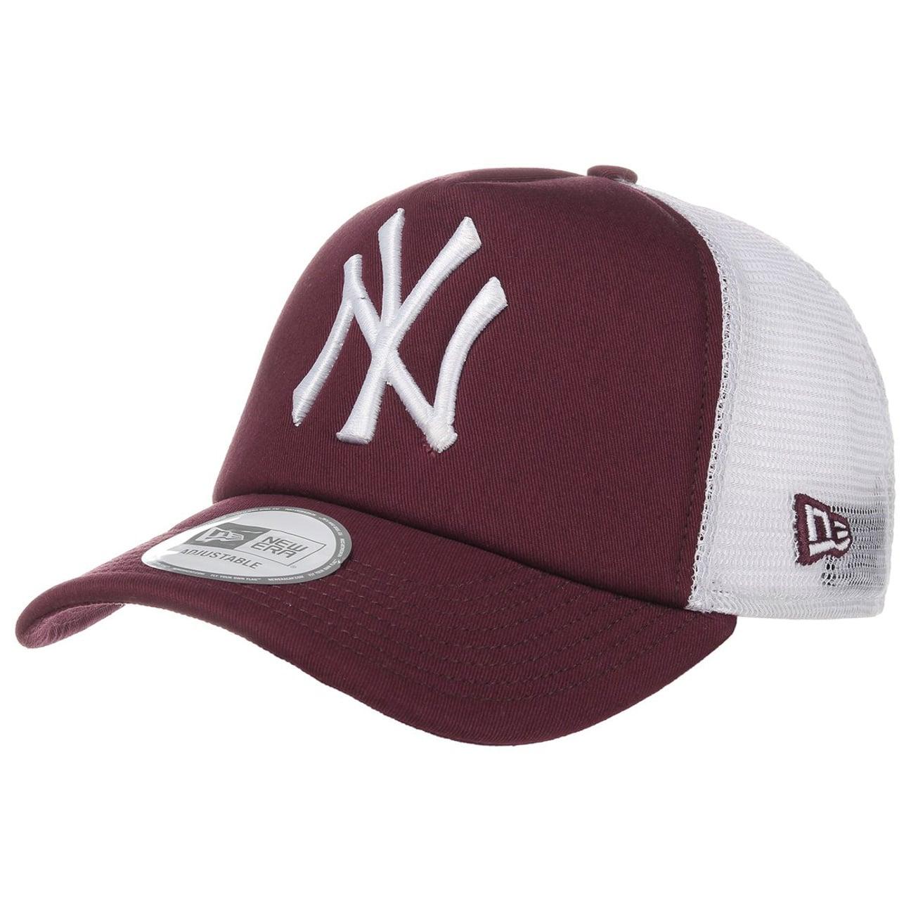 mlb clean trucker cap ny by new era gbp 25 95 hats. Black Bedroom Furniture Sets. Home Design Ideas