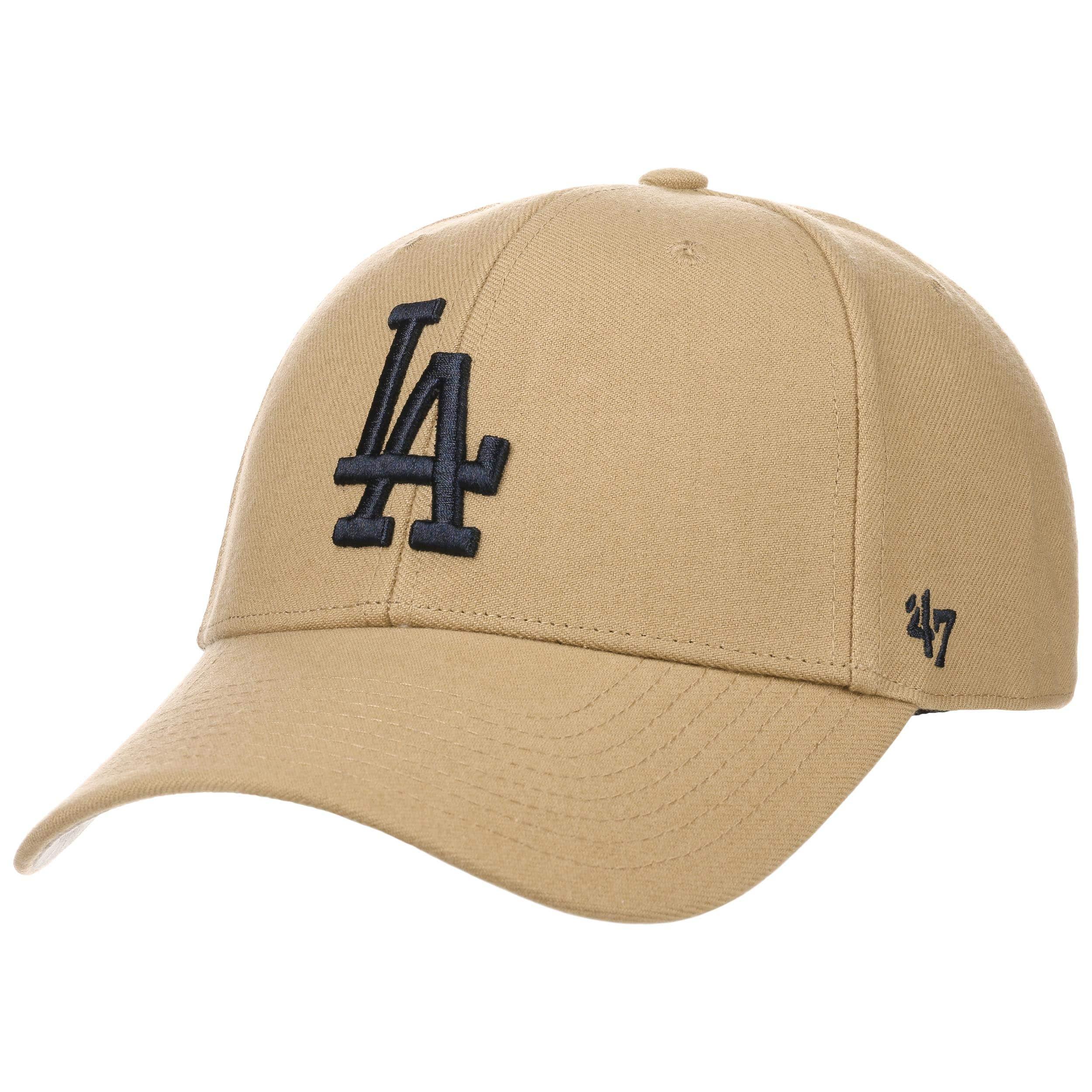 coupon codes the best cheap MVP Khaki Dodgers Strapback Cap by 47 Brand --> Hats, caps ...