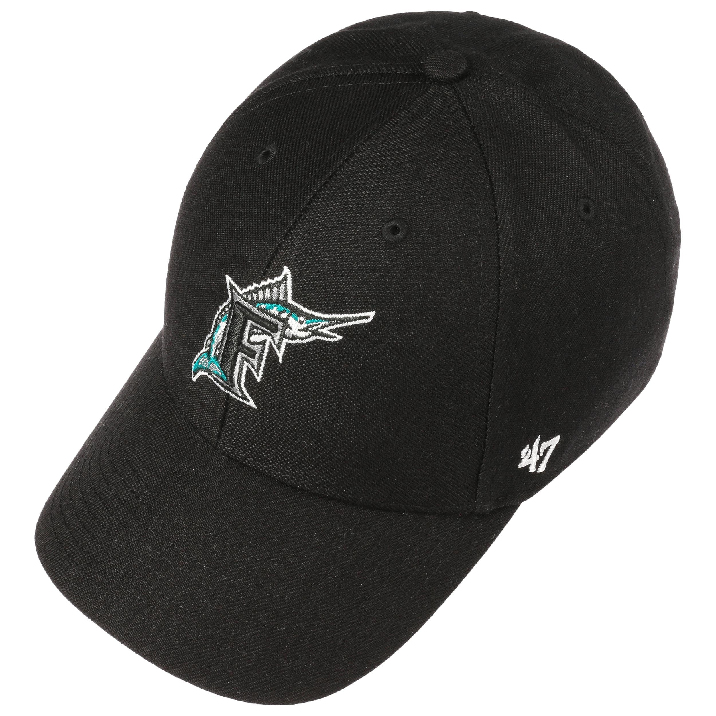 MVP Miami Marlins Cap by 47 Brand - black 1 ... d3c666535a3