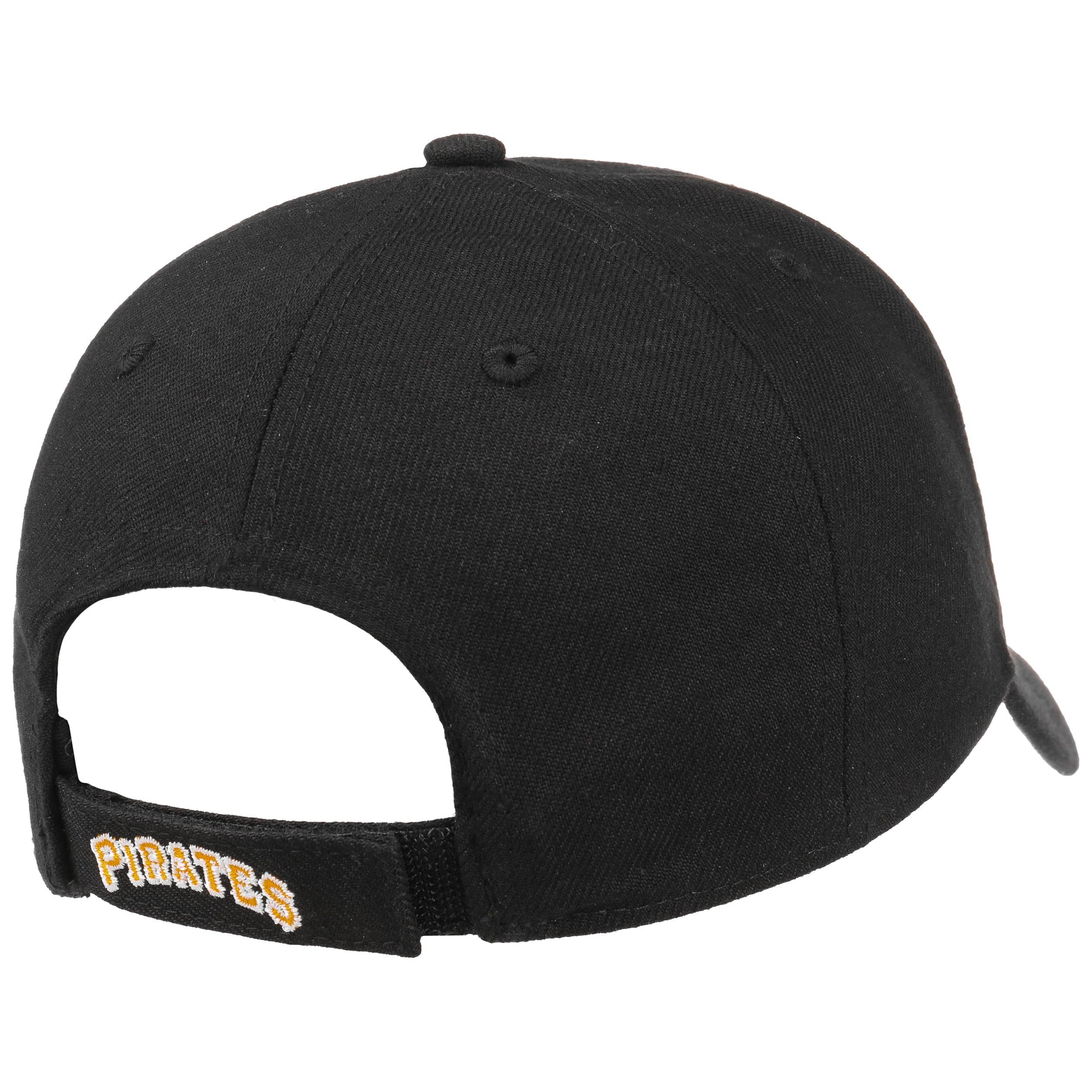 2e1ee9aa9228b ... MVP Pirates Cap by 47 Brand - black-black 3 ...