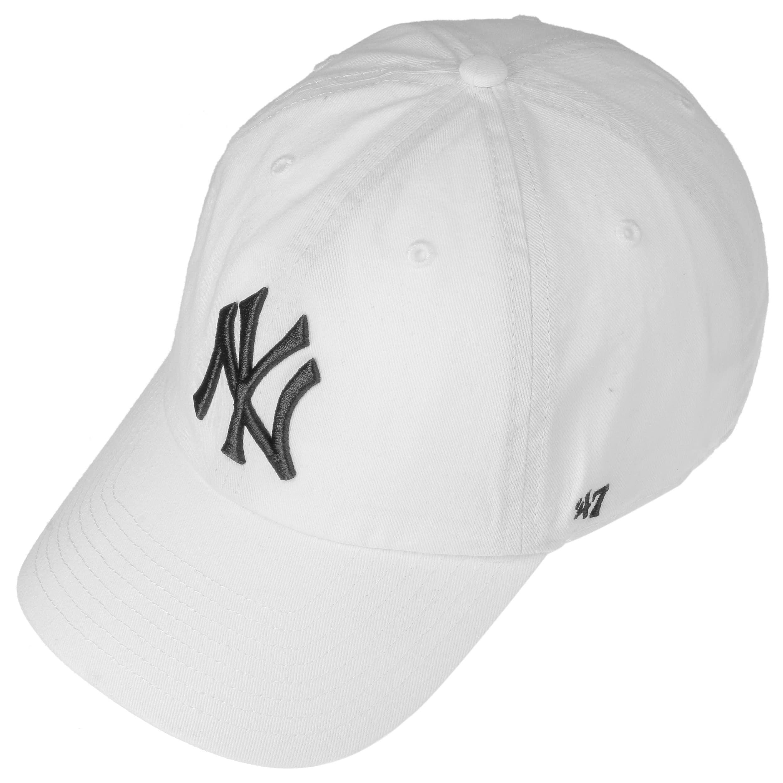 ... MVP Snapback Yankees Cap by 47 Brand - white 1 ... e35d51c0817