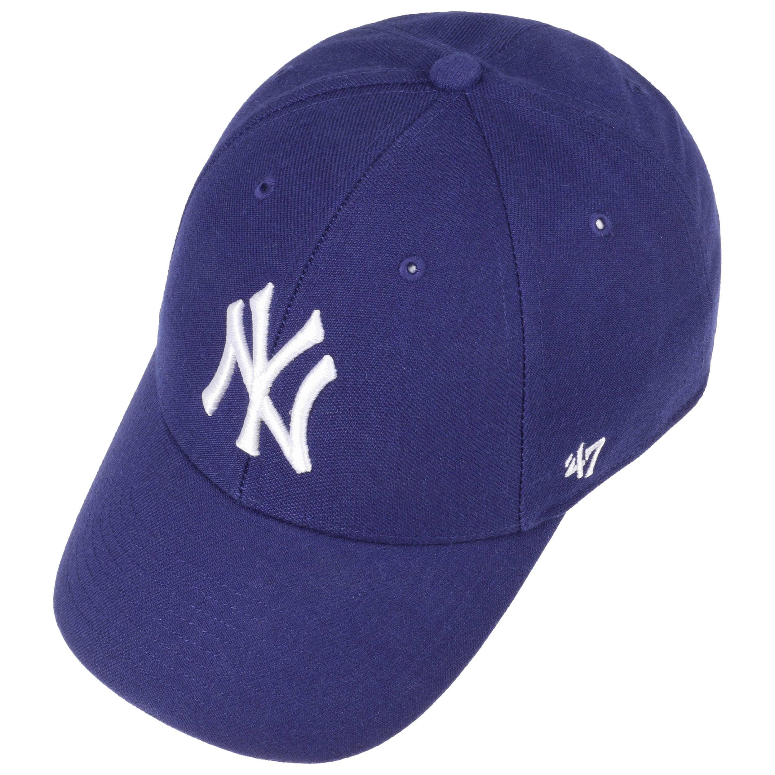 b59f4c8077e ... MVP Yankees Youth Cap by 47 Brand - royal-blue 1 ...