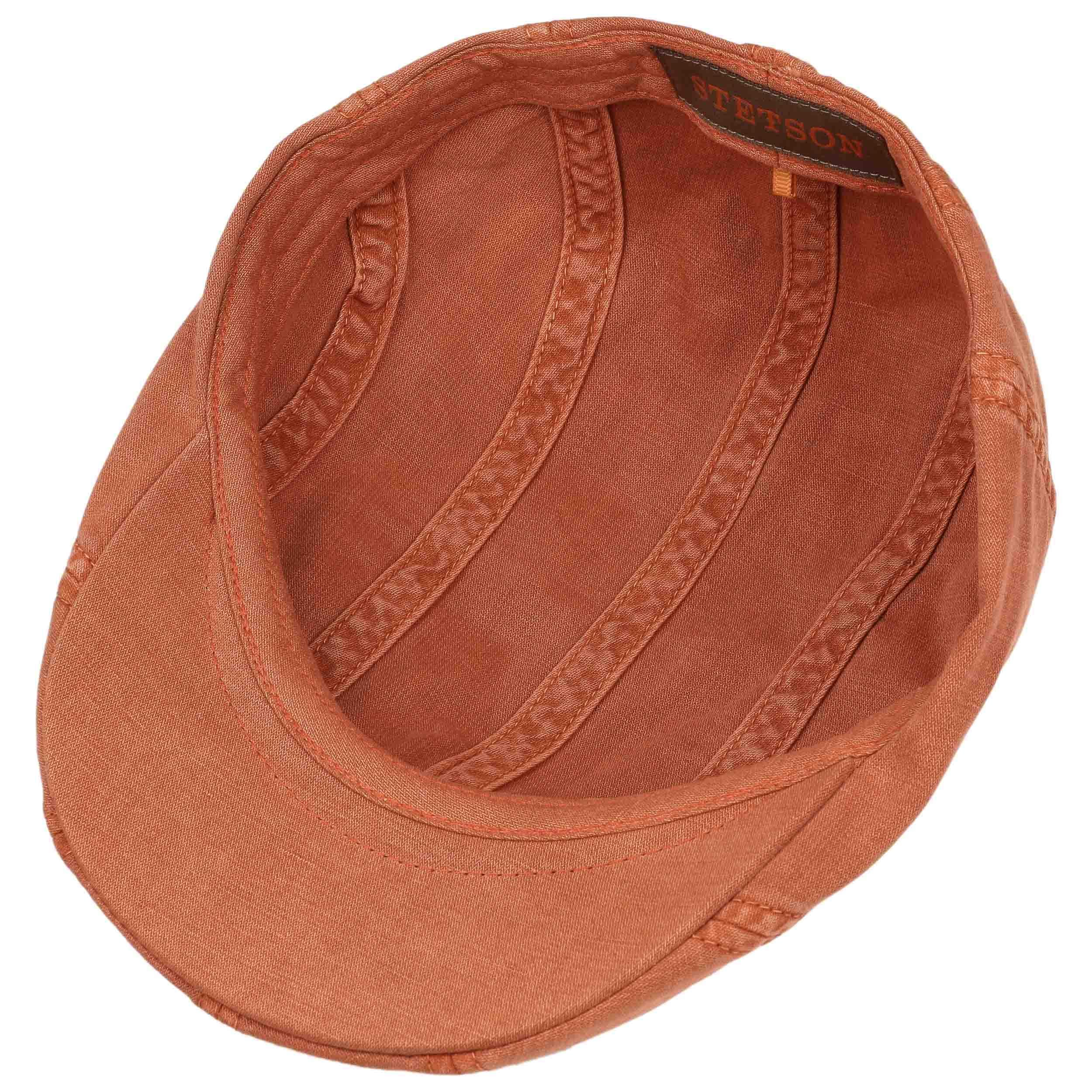 ... Madison Dye Flat Cap by Stetson - orange 2 ... 39ddab3eeb3a