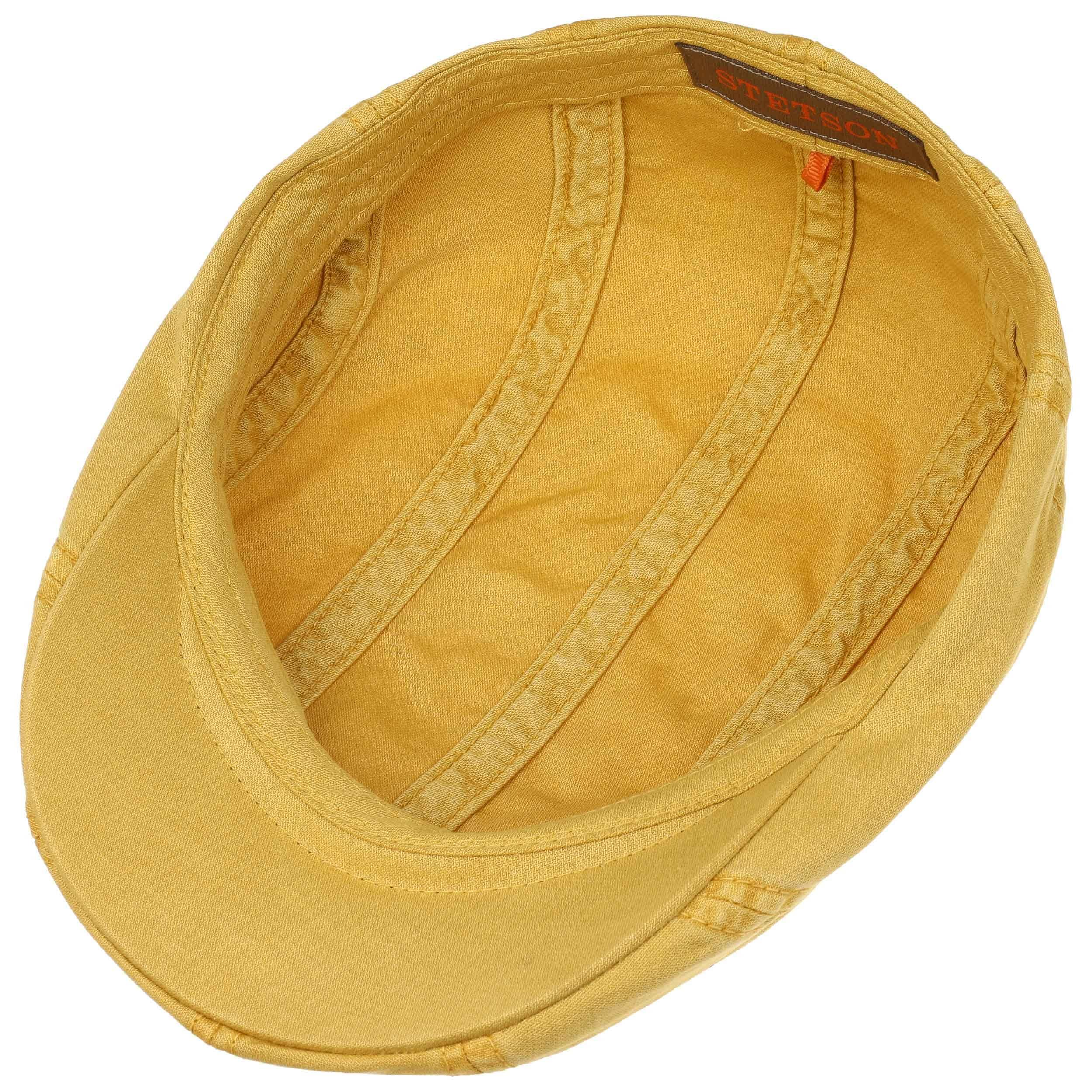 ... Madison Dye Flat Cap by Stetson - yellow 2 ... d45e8240be9