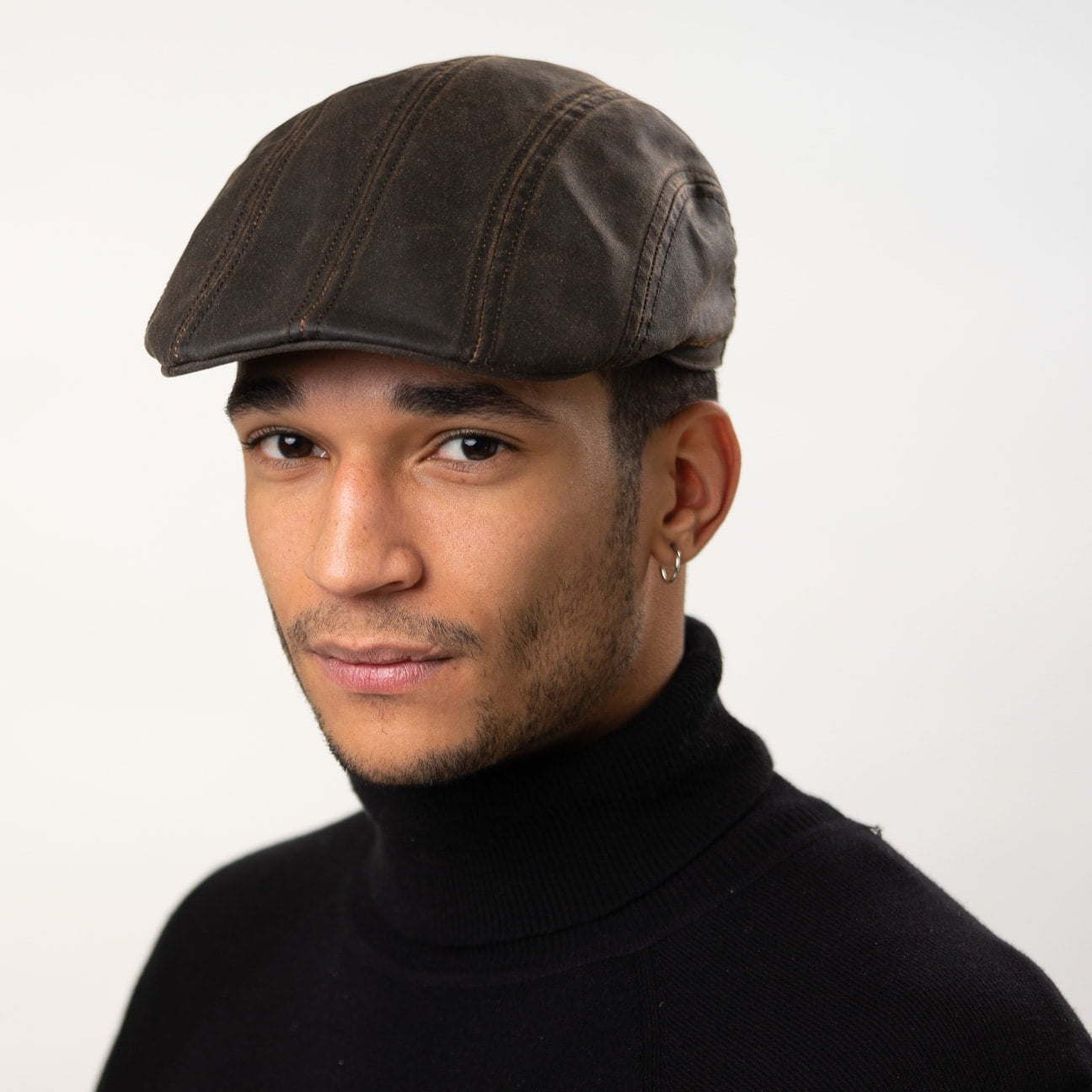 ... Madison Old Cotton Flat Cap by Stetson 1 ... 7c1fc62f265